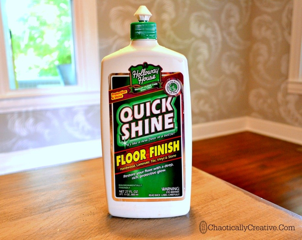 Quick Shine For Wood Floors