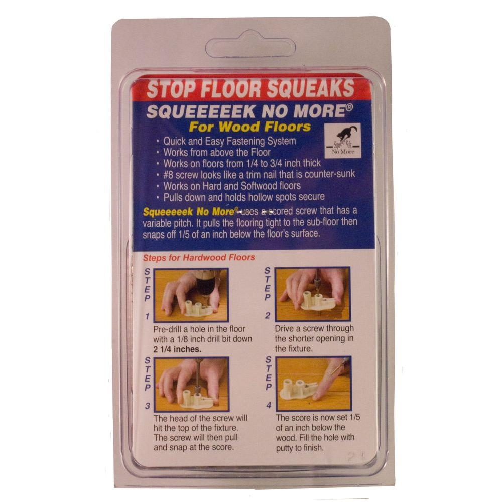 Reduce Wood Floor Squeaks