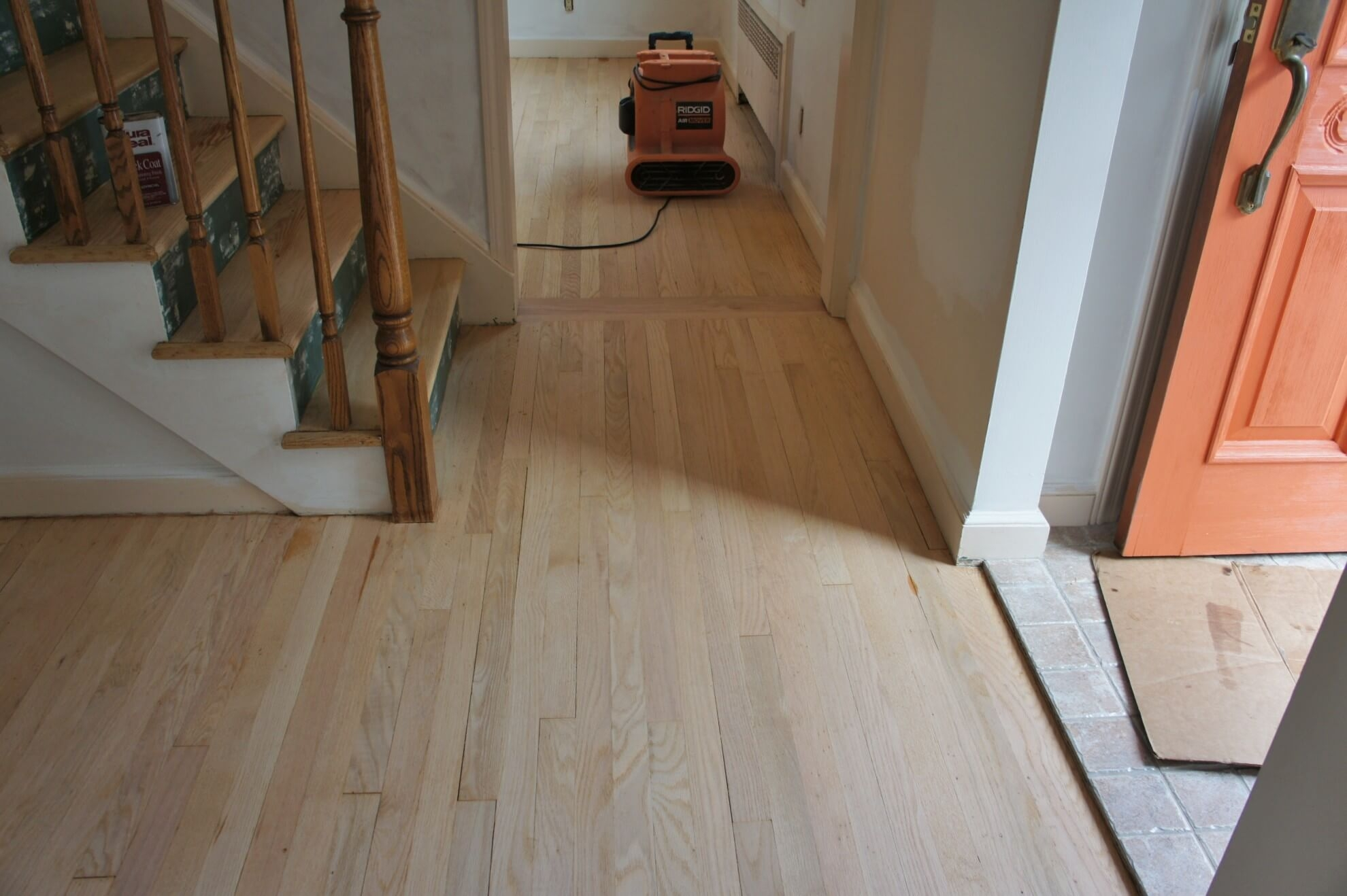 Sanding And Finishing New Wood Floors