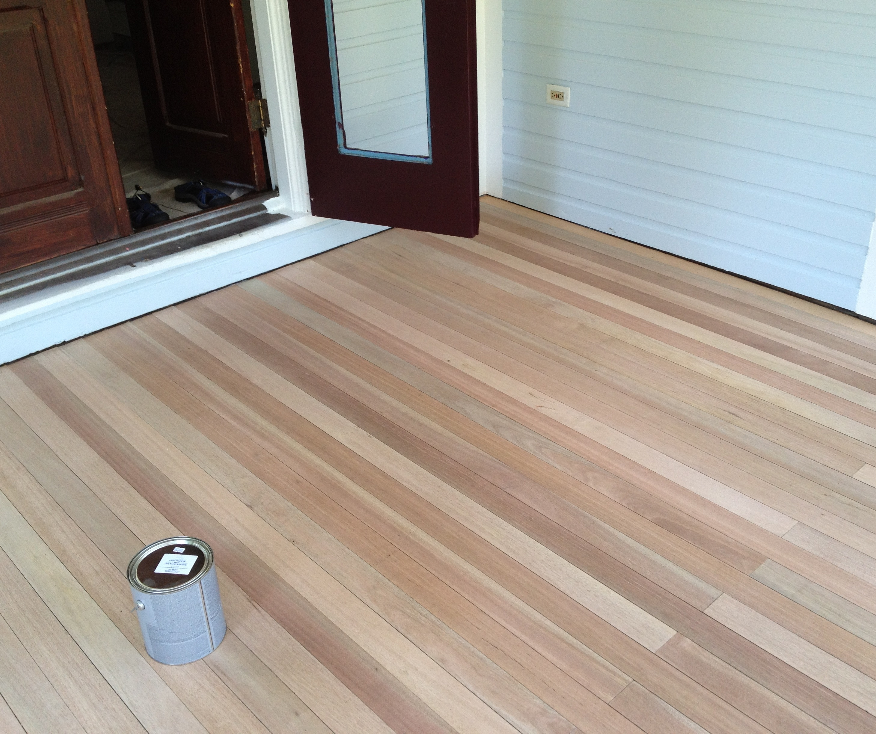 Permalink to Staining Light Wood Floors Darker