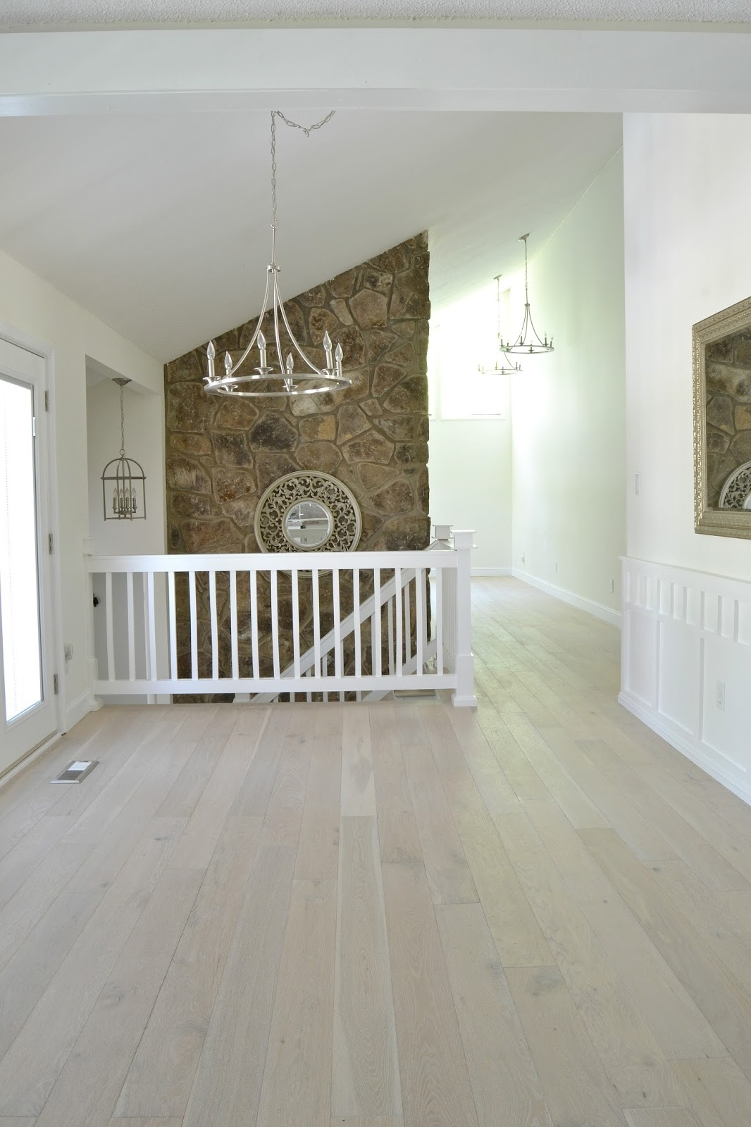 White Wash Wooden Flooring