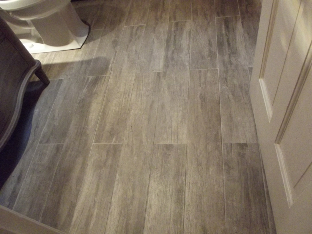 Wood Looking Ceramic Tile Flooring1050 X 788