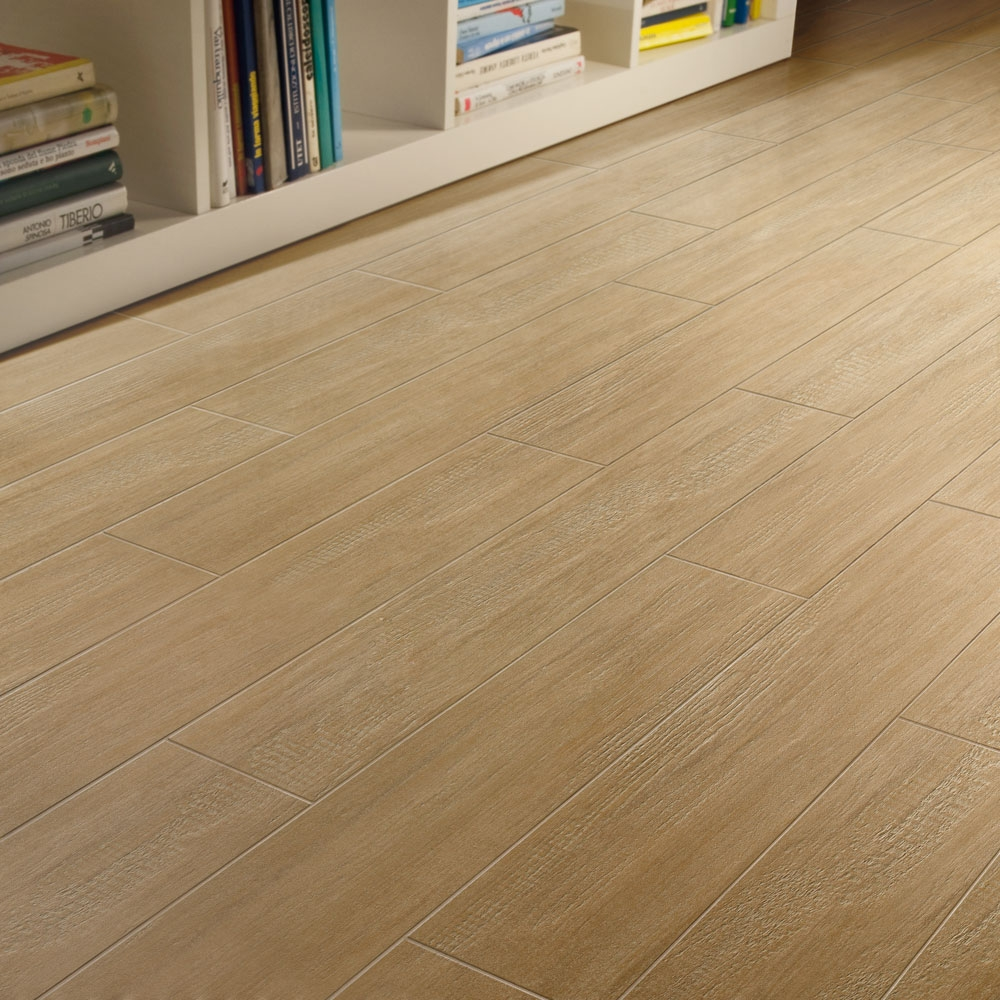 Wood Looking Porcelain Tile Flooring