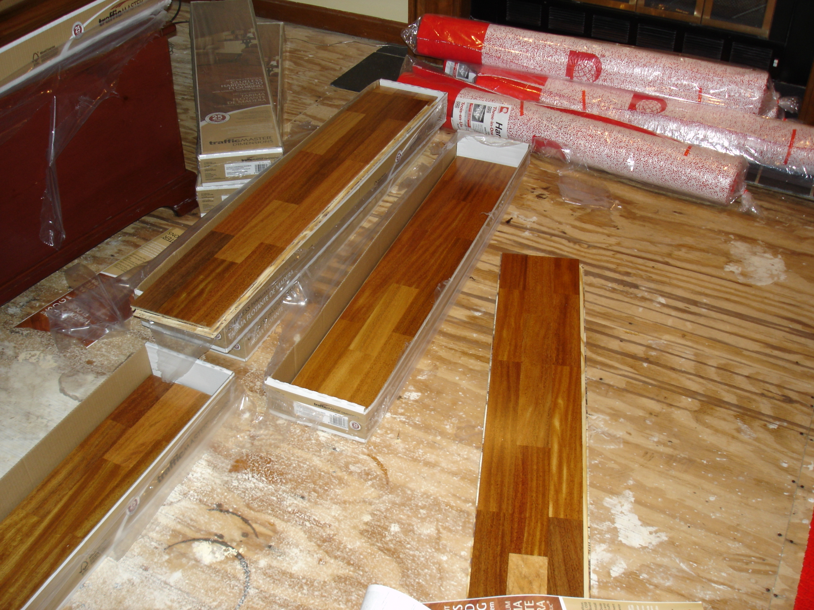 Engineered Wood Flooring On Concrete