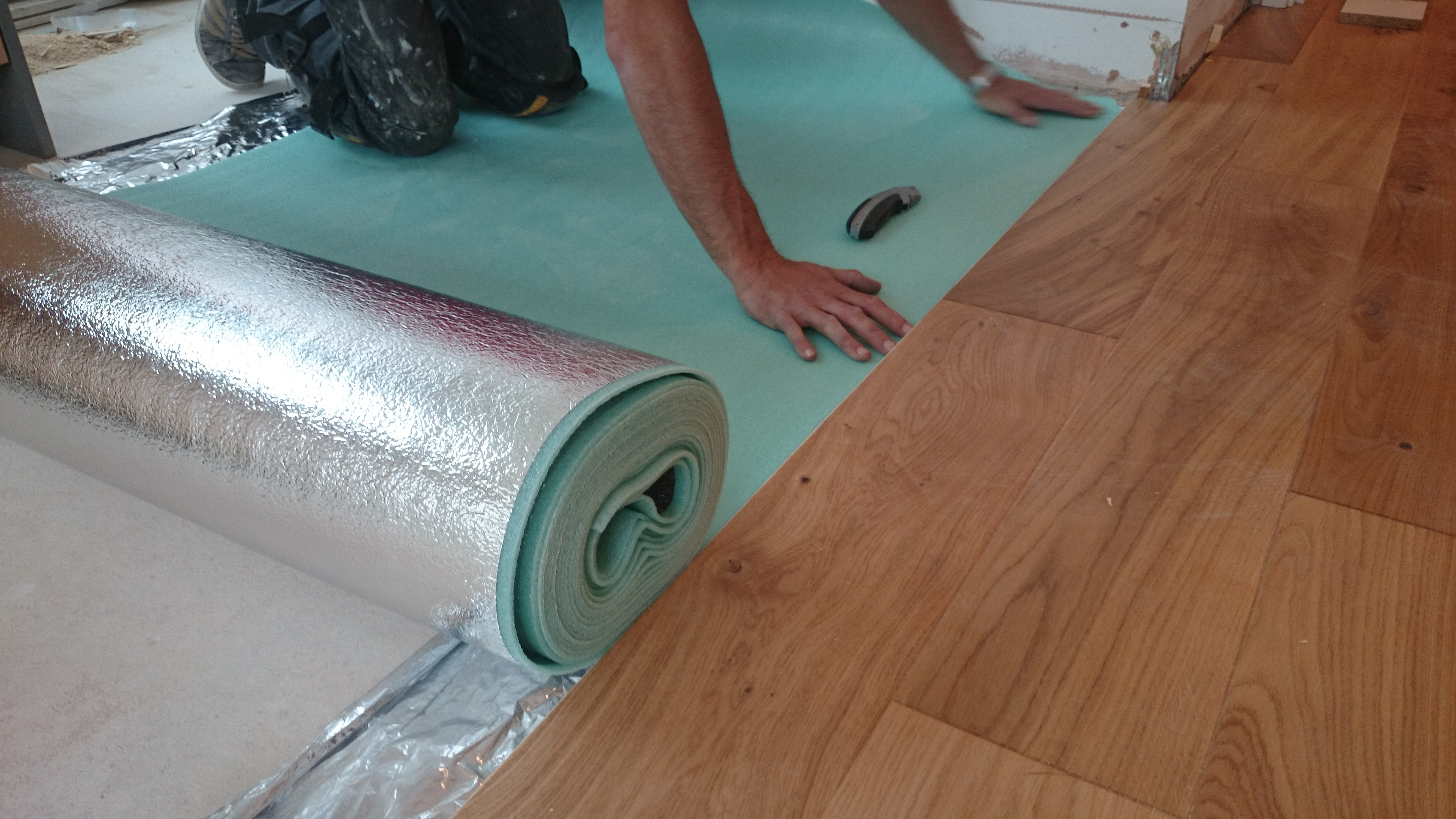Permalink to Laying Underlay For Engineered Wood Flooring
