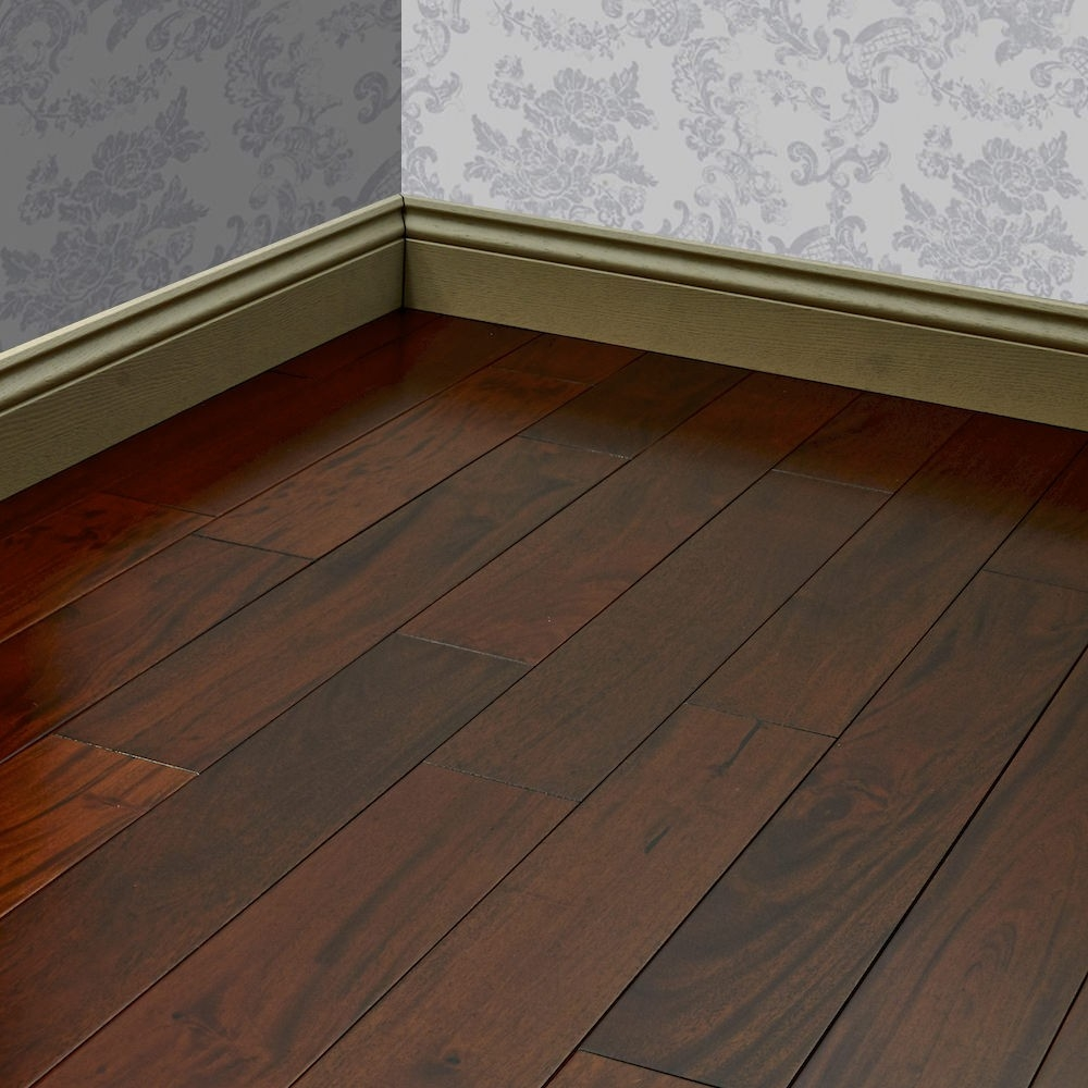 Royal Merbau Lacquered Solid Wood Flooring
