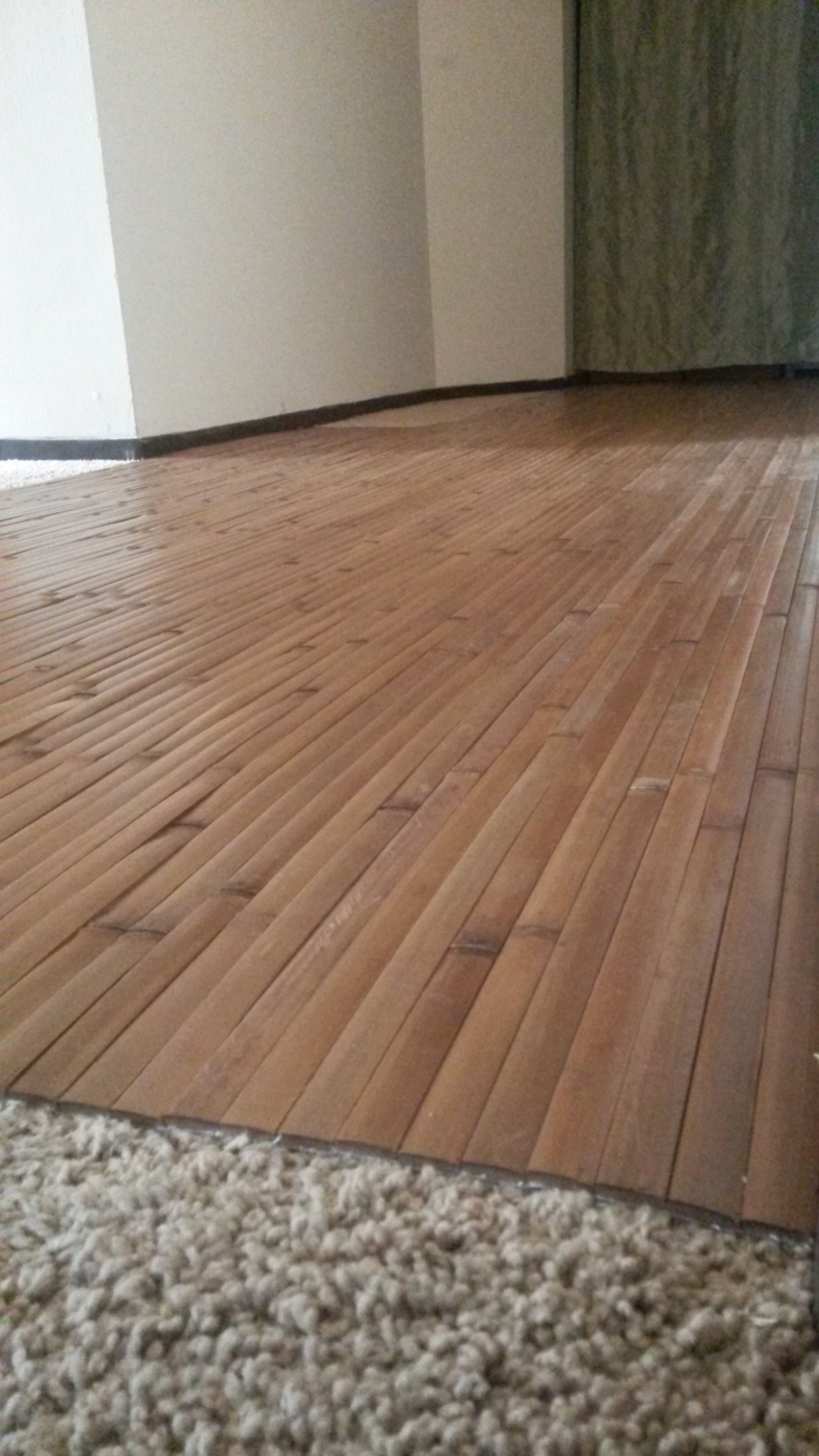 Wood Floor Tiles Over Carpet