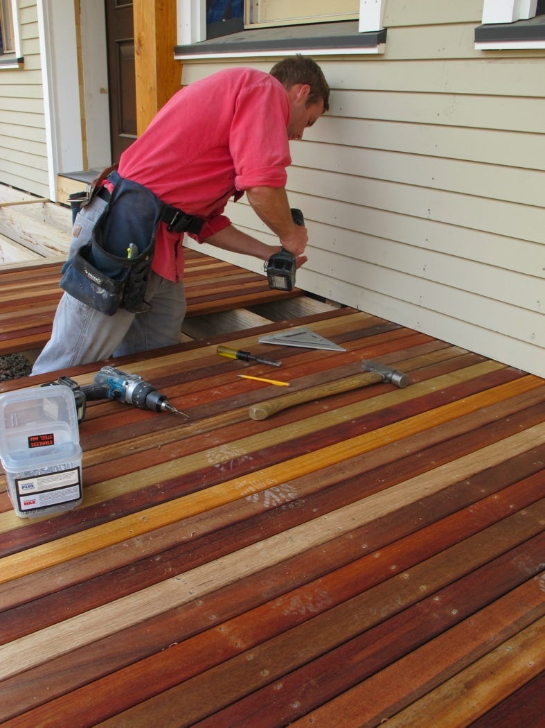 Wood For Deck Floor