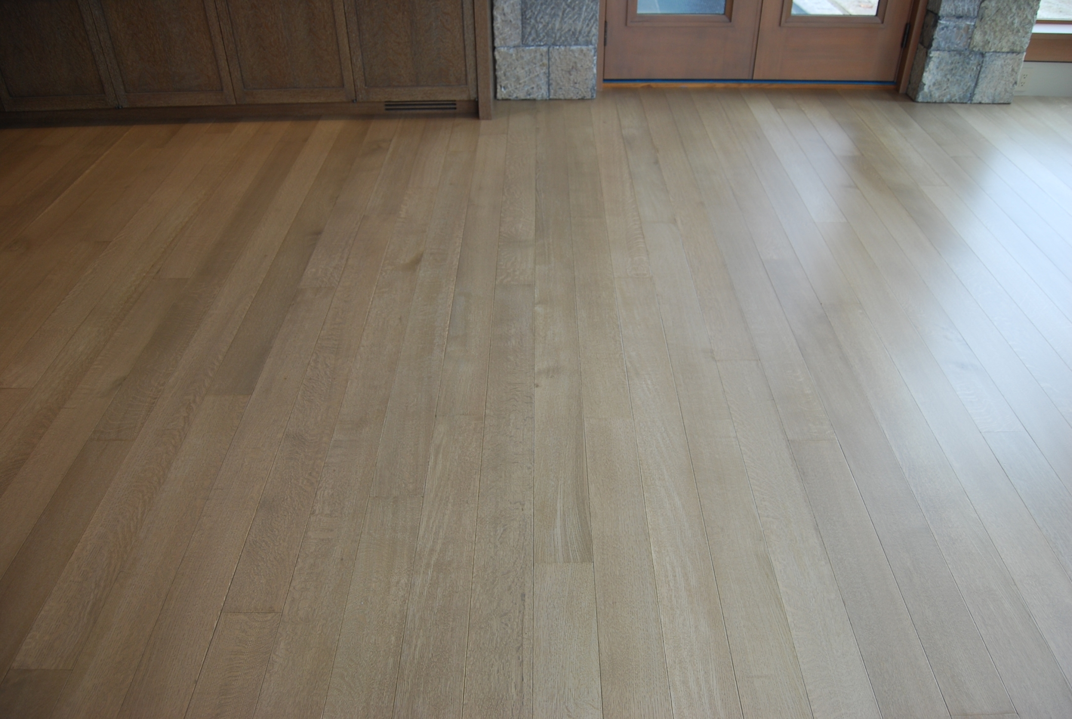 Bleached Maple Wood Floors