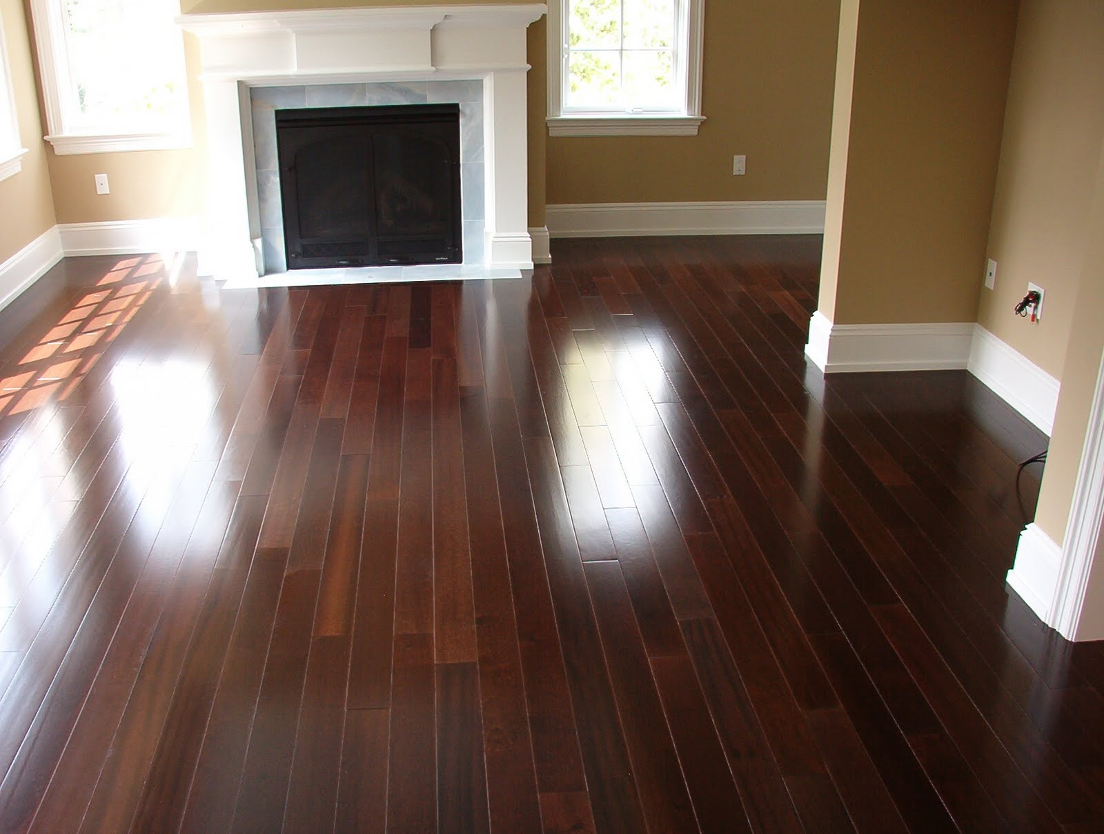 Permalink to Dark Cherry Wood Flooring