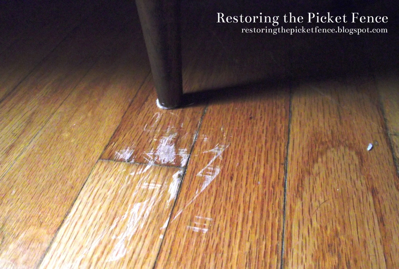 Furniture Scratches On Wood Floors