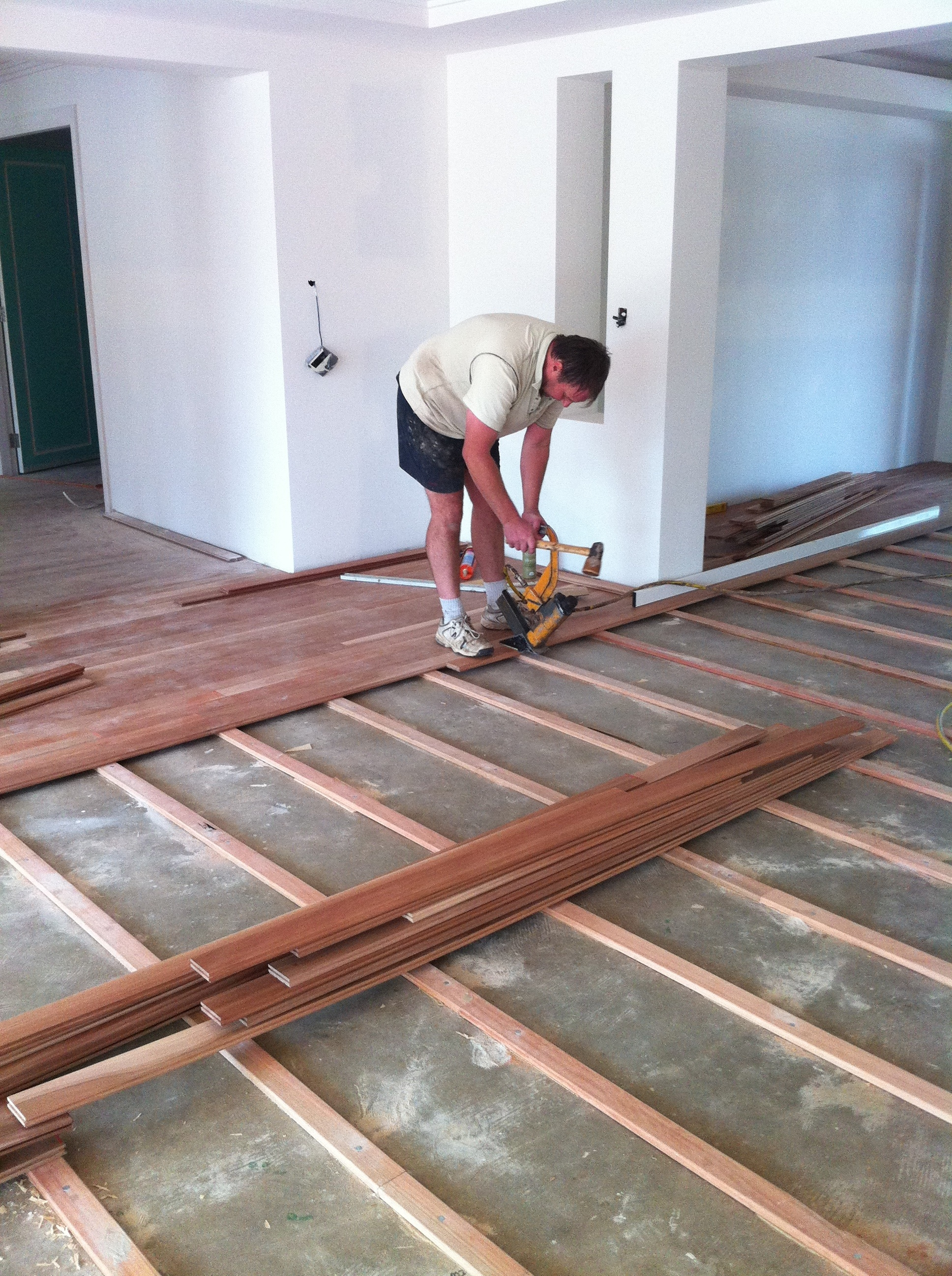 Laying Floating Solid Wood Flooring On Concrete