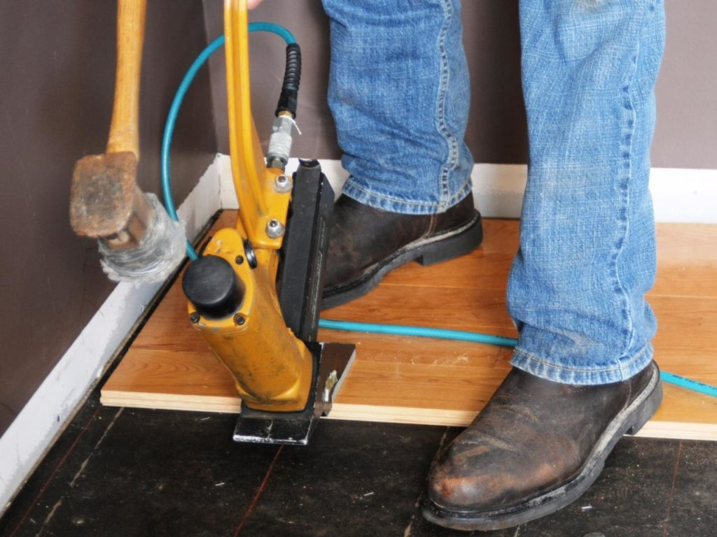 Nail Gun For Solid Wood Flooring