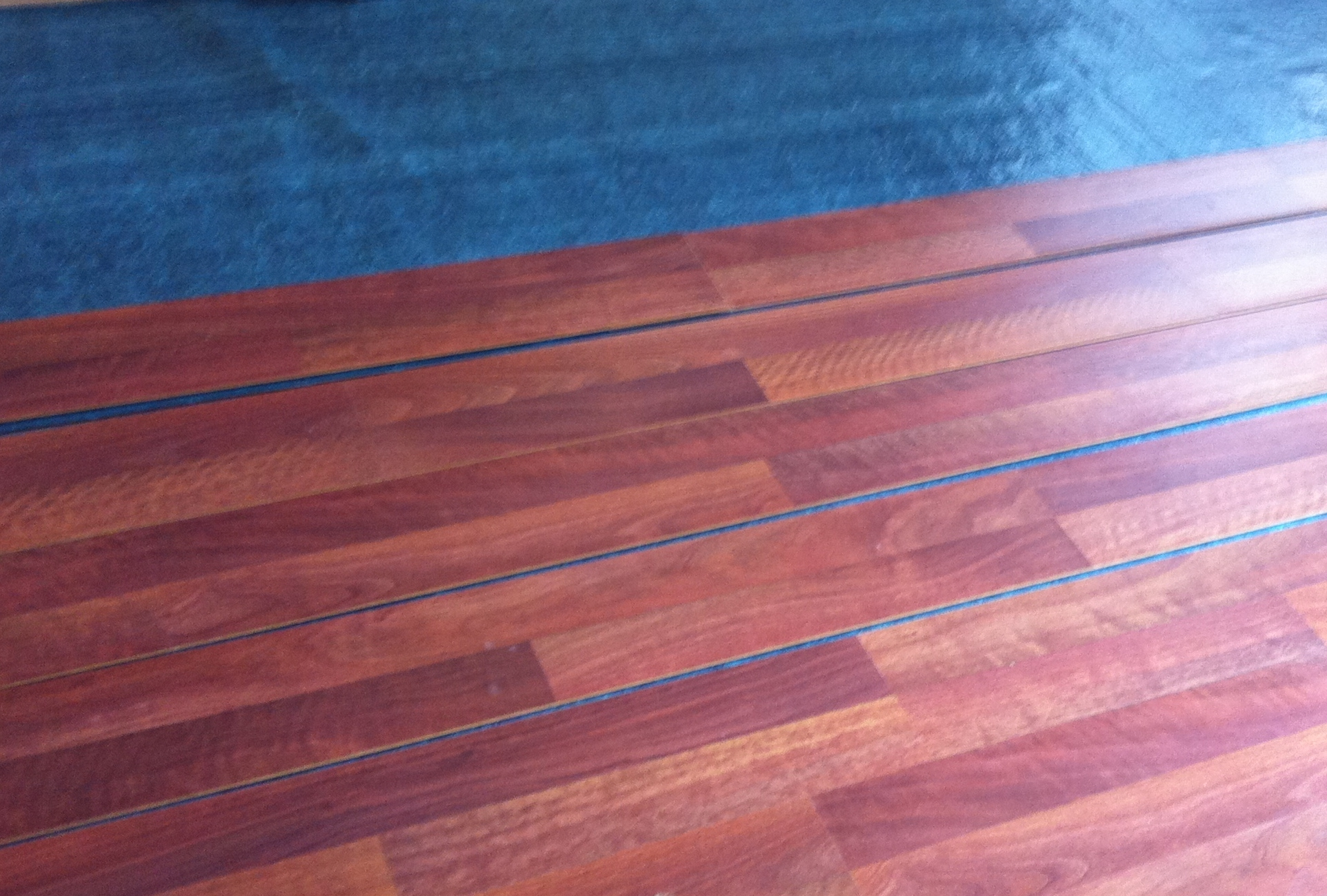 Padding Under Wood Laminate Flooring