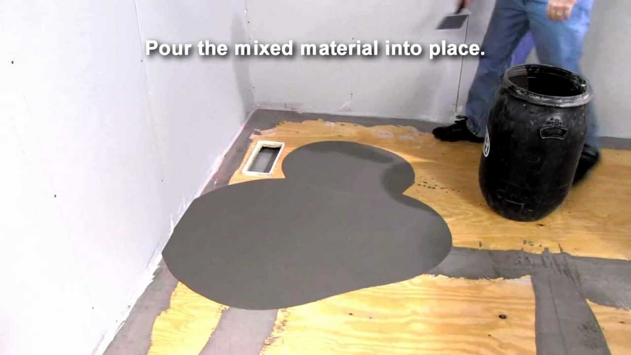Self Leveling Wood Floor Patch