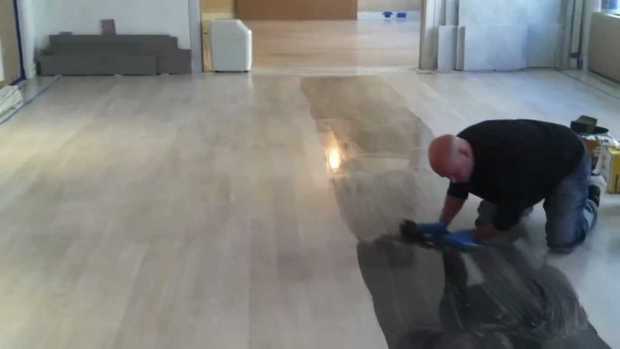 Staining A Wood Floor White
