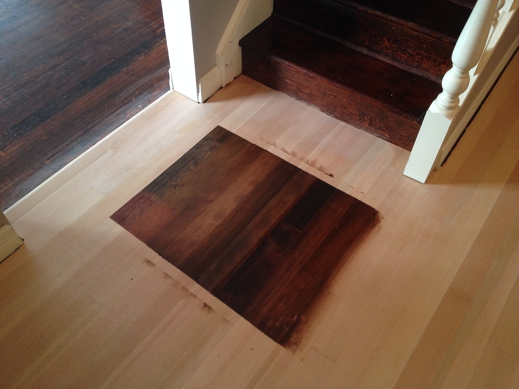 Staining A Wood Floor