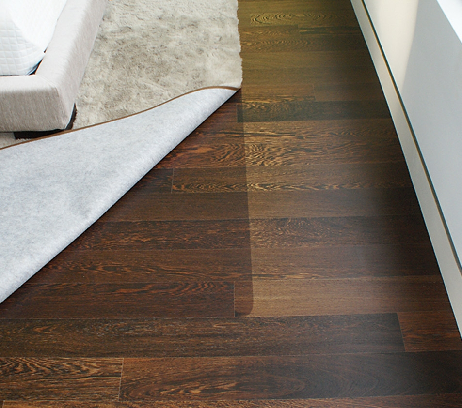 Sun Bleached Wood Flooring