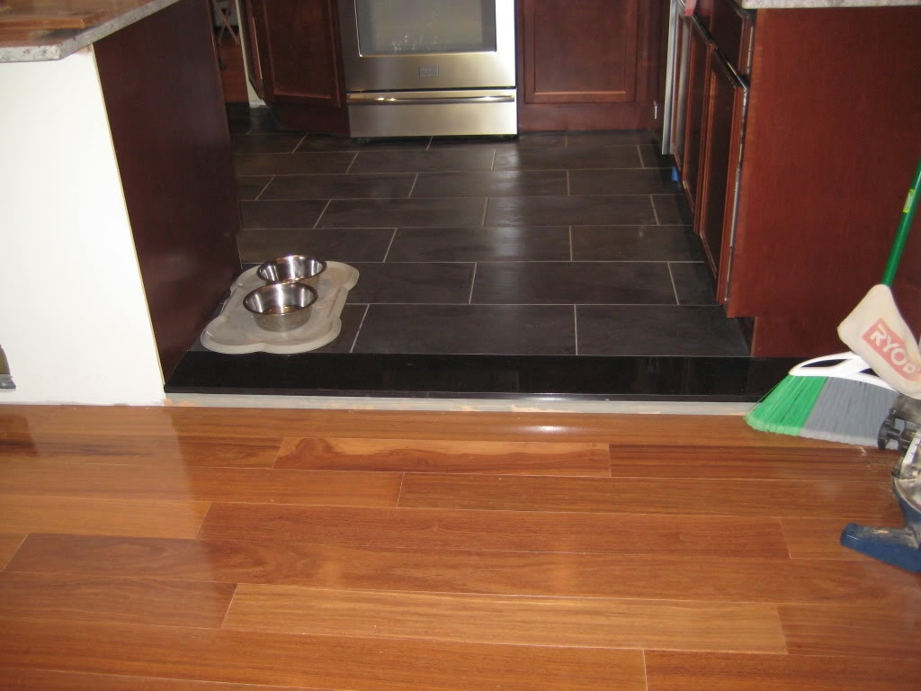 Transition Piece Between Tile And Wood Floor