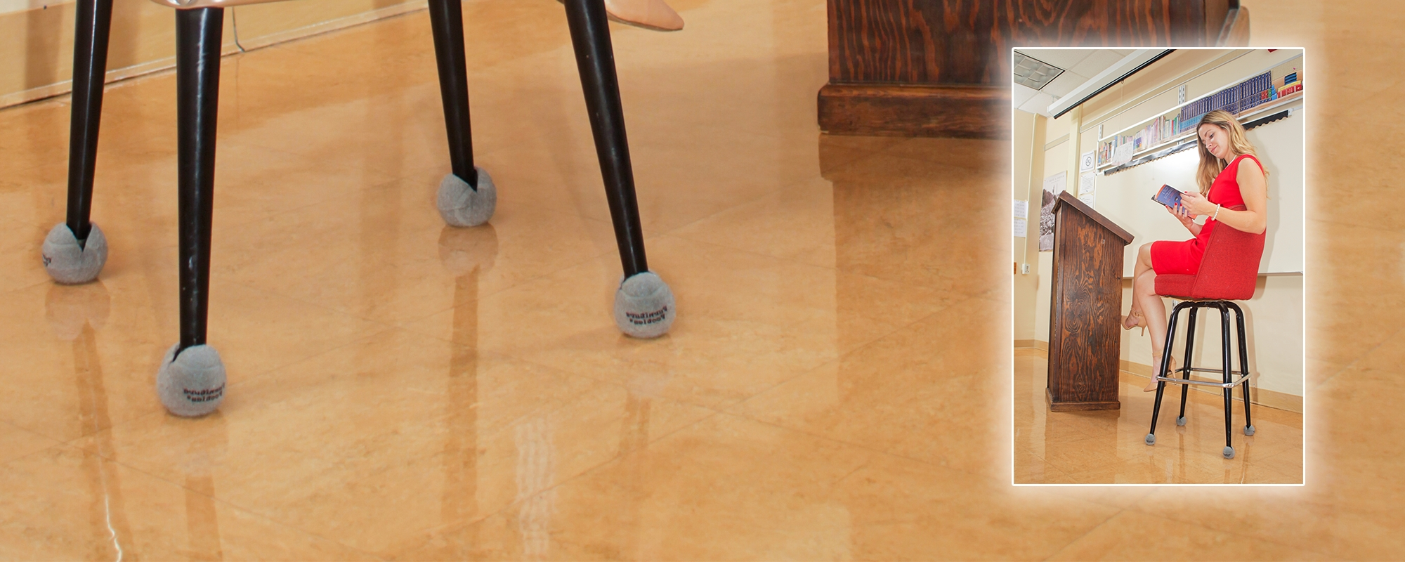Wood Chair Glides For Tile Floors