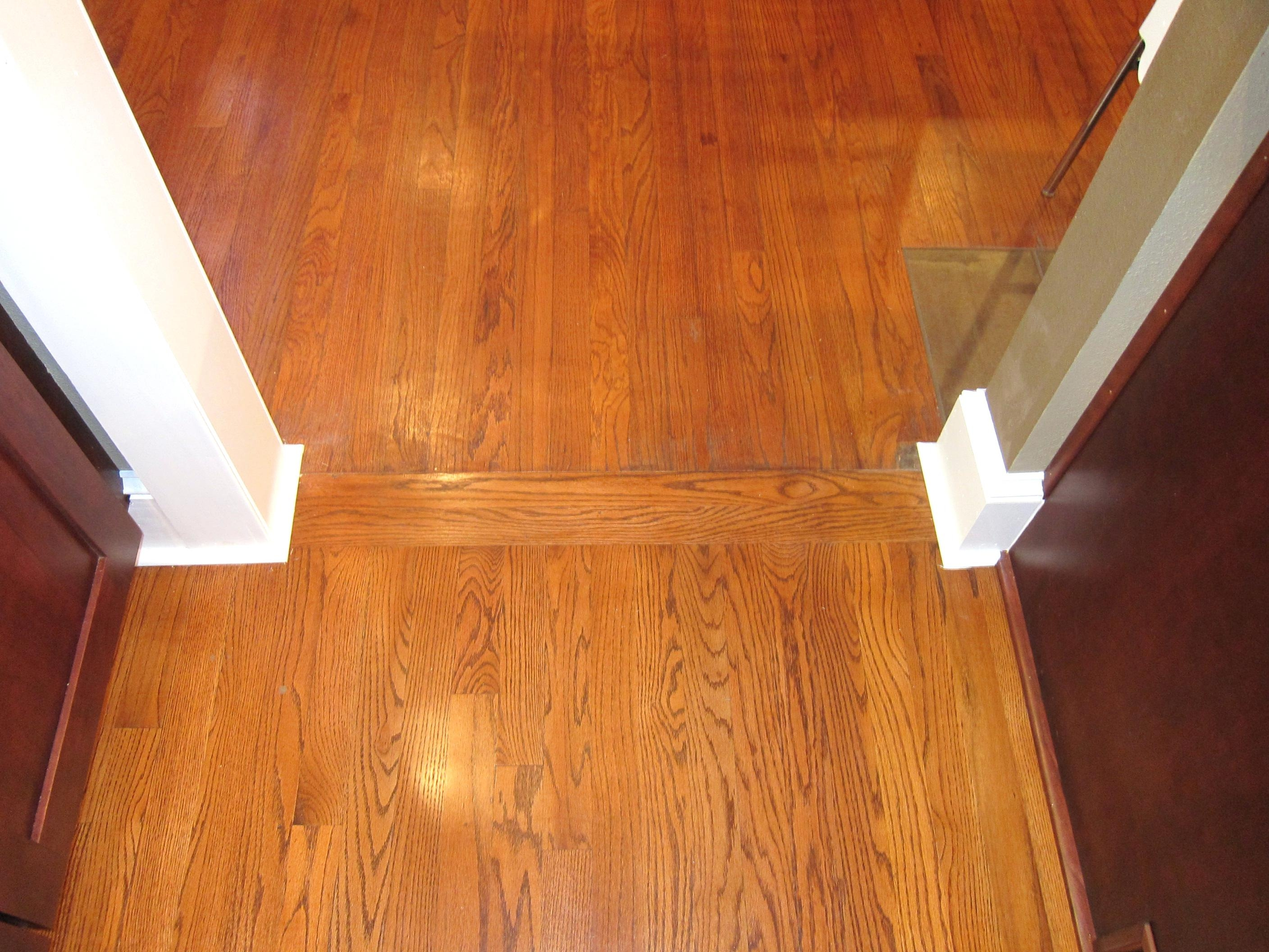 Wood Floor Transitions Between Rooms