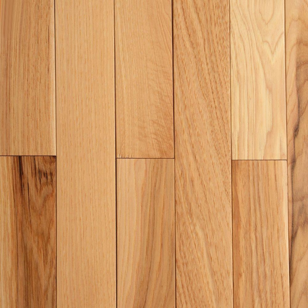 3 1 4 Vs 2 1 4 Wood Flooringbruce hickory rustic natural 34 in thick x 2 14 in wide x