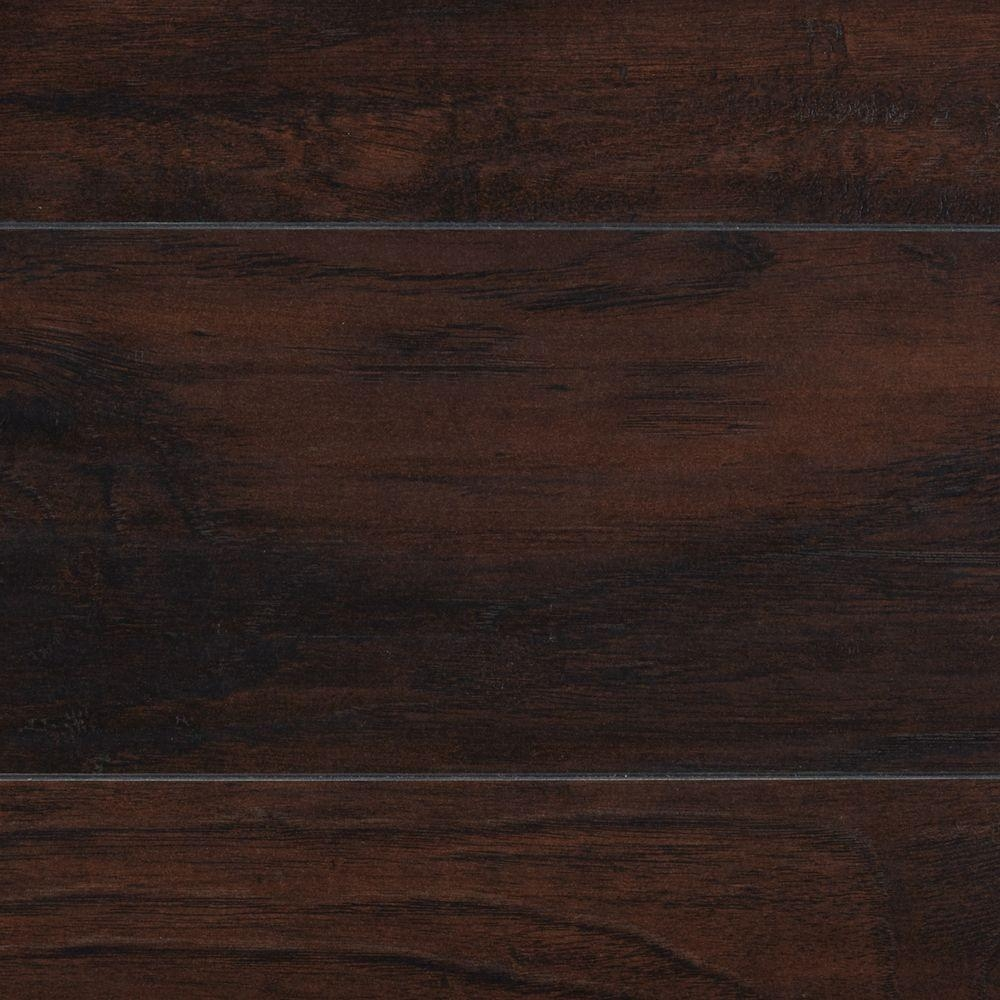 Dark Brown Laminate Wood Flooring