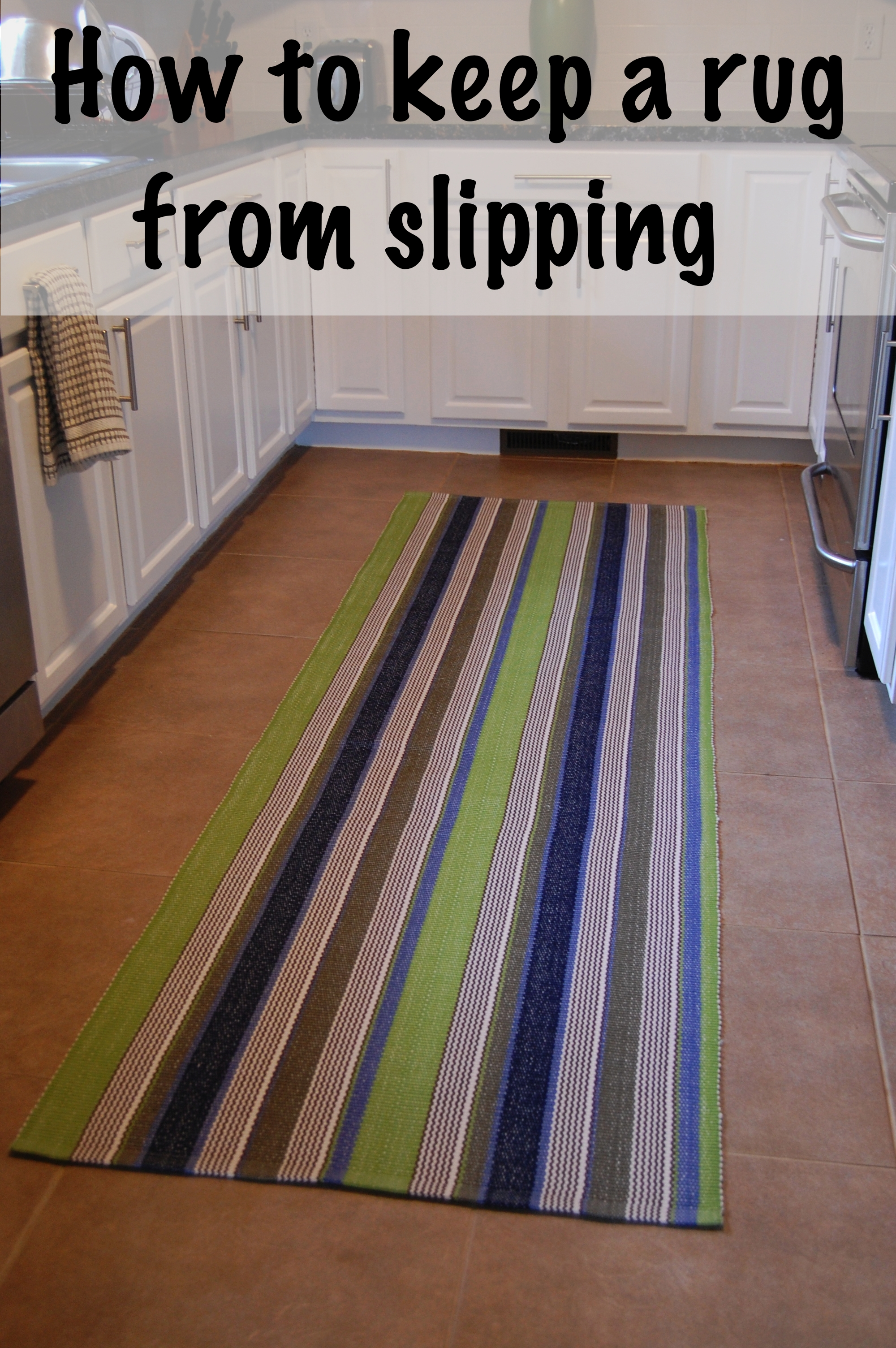 Keep Rug From Sliding On Wood Floor