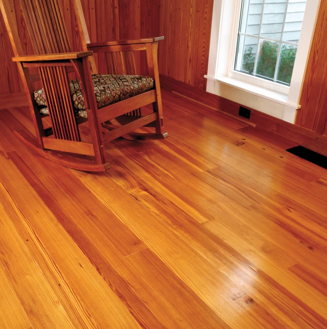 Knotty Wood Laminate Flooring