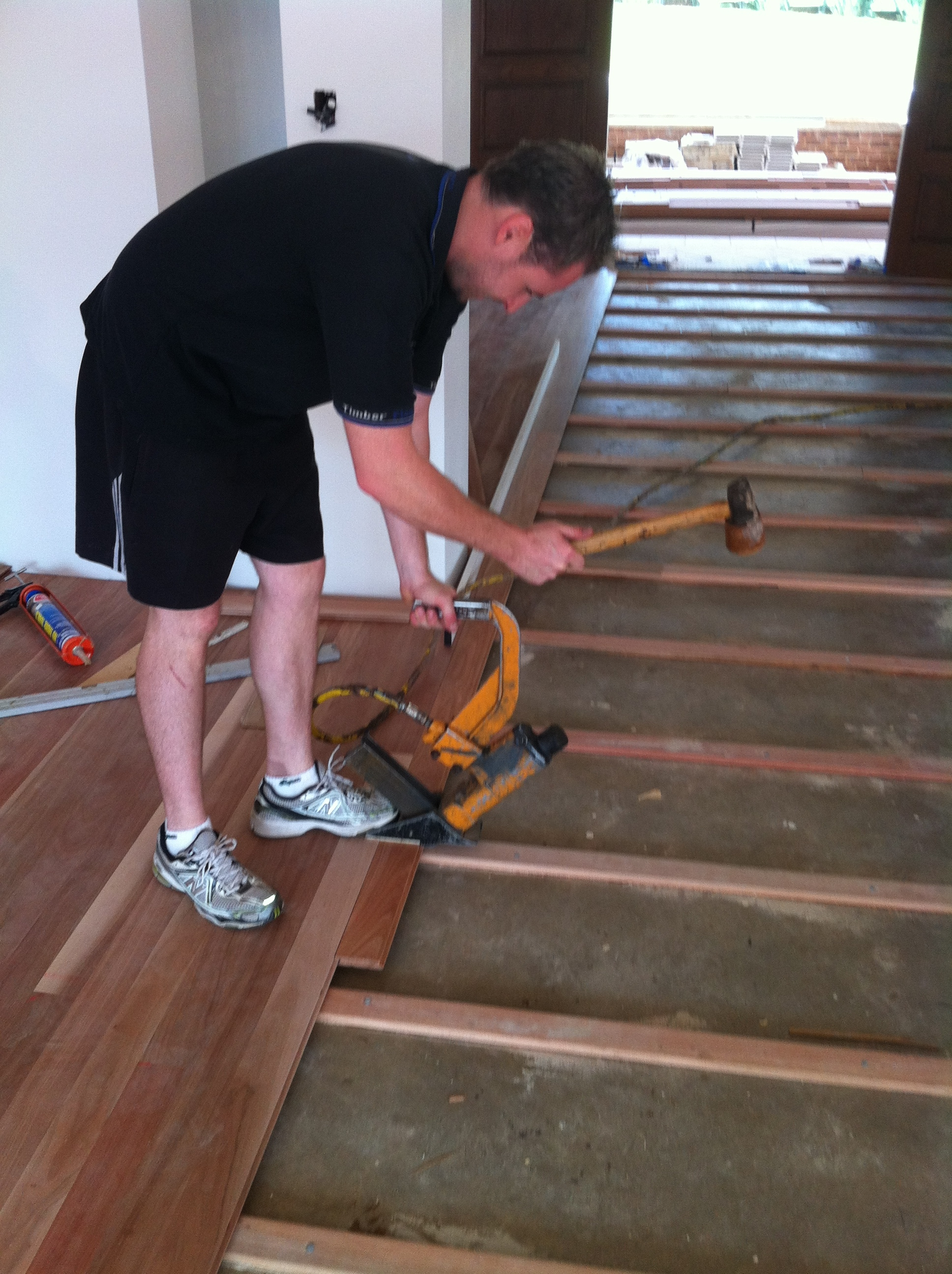 Laying A Floating Wooden Floor On Concrete