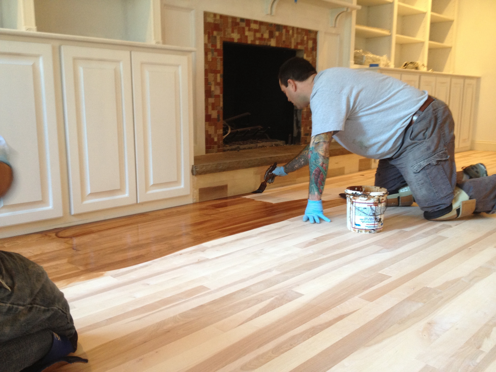 Moving Furniture Over Wood Floors