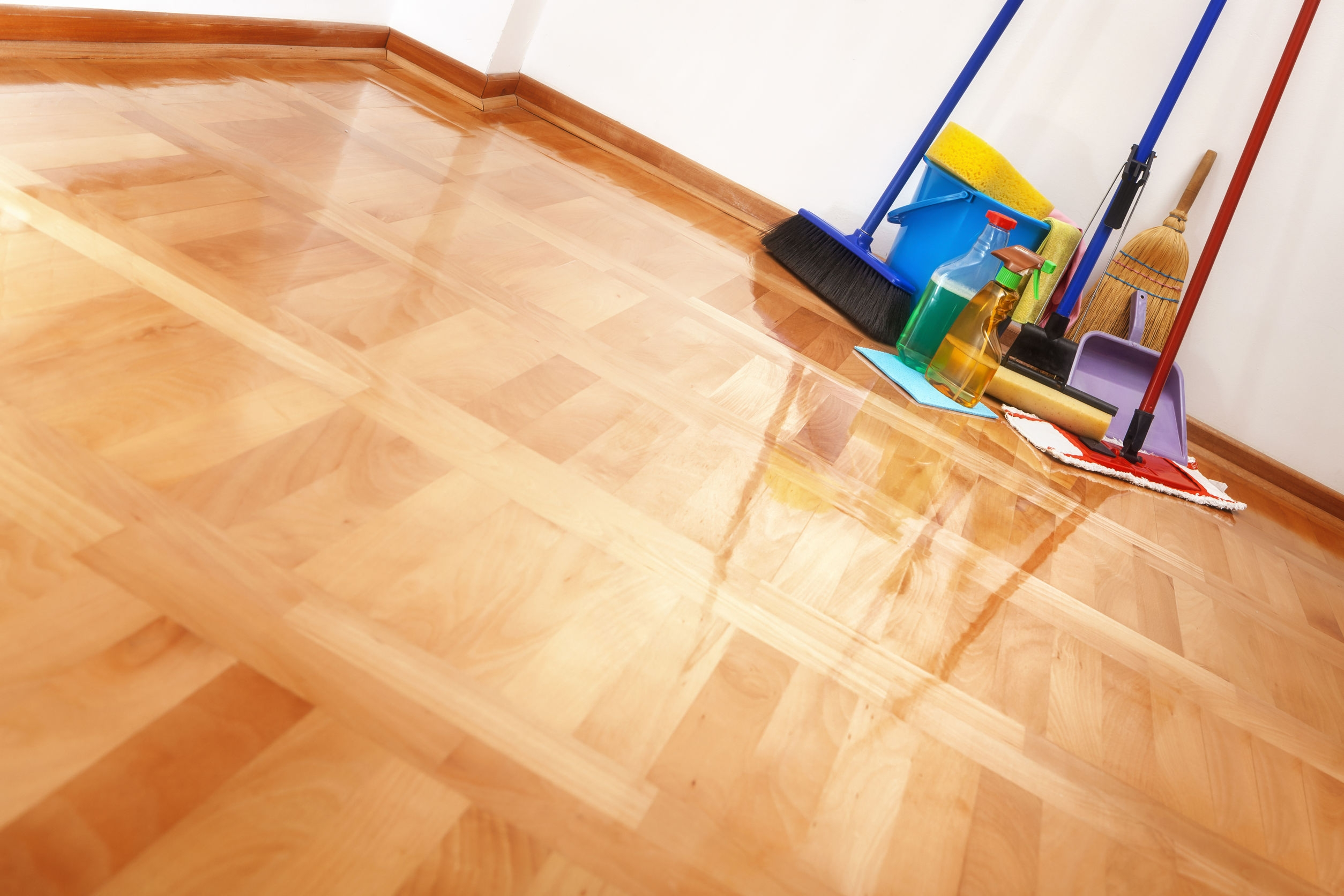 Natural Disinfectant Wood Floors