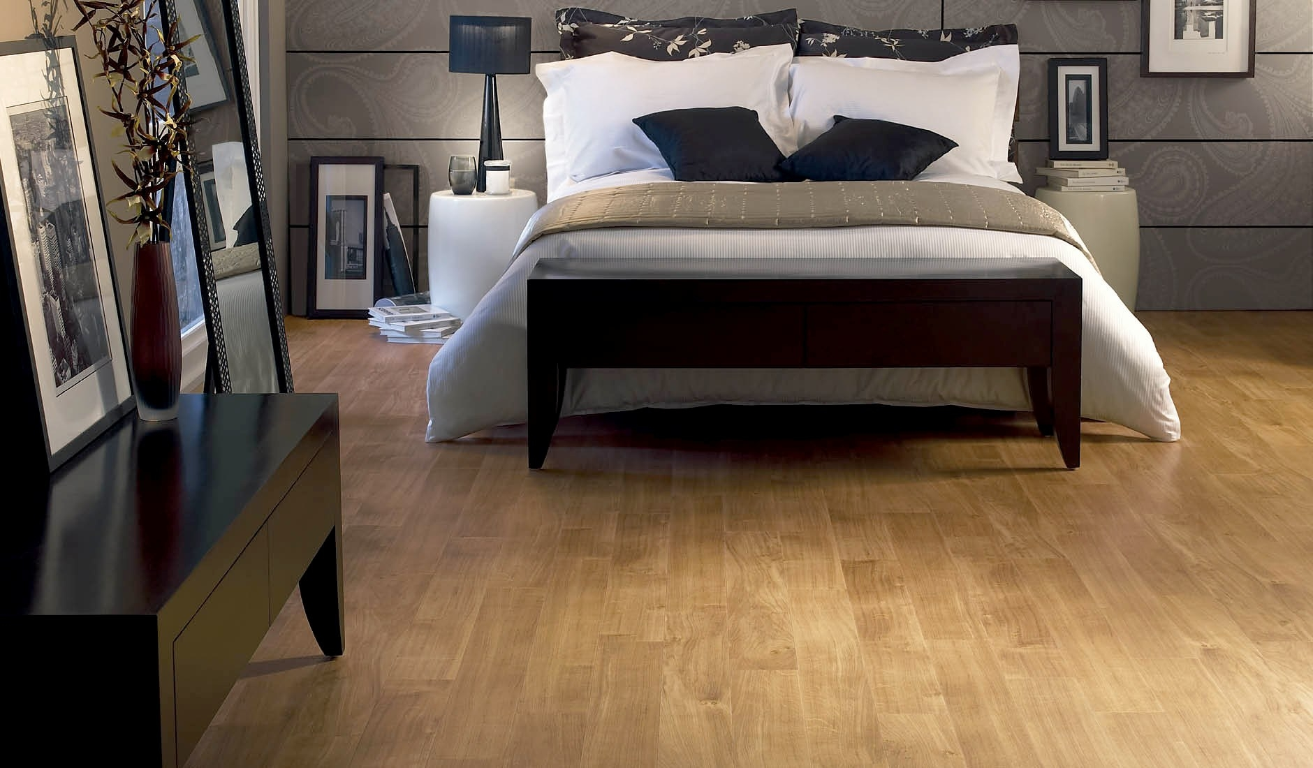 Oak Wood Floor Design Ideas