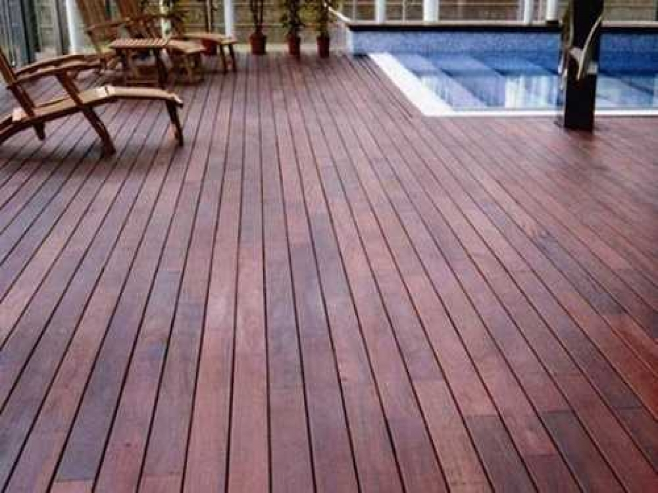 Outdoor Wood Flooring Ideas