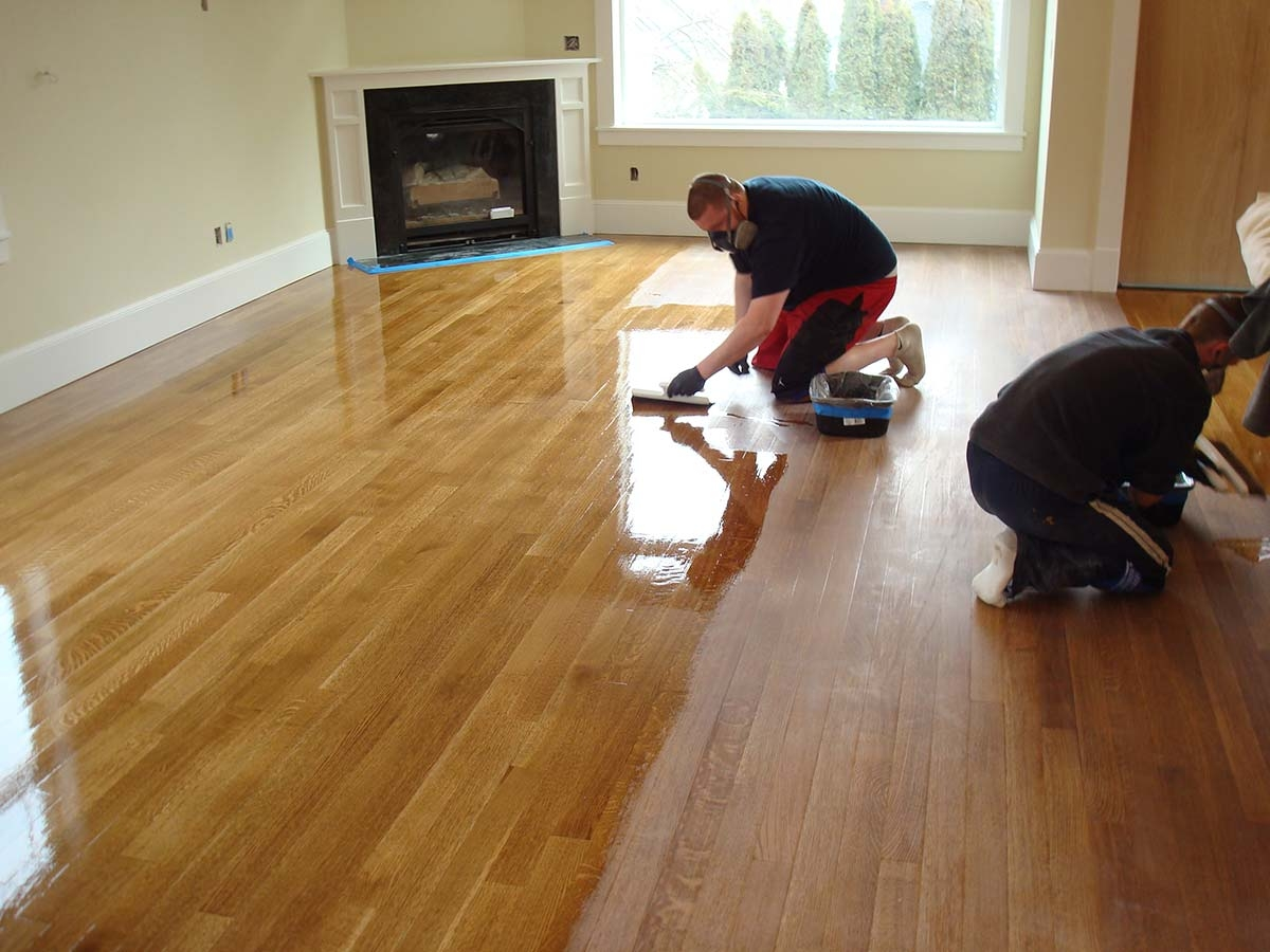 Polishing Wood Floors