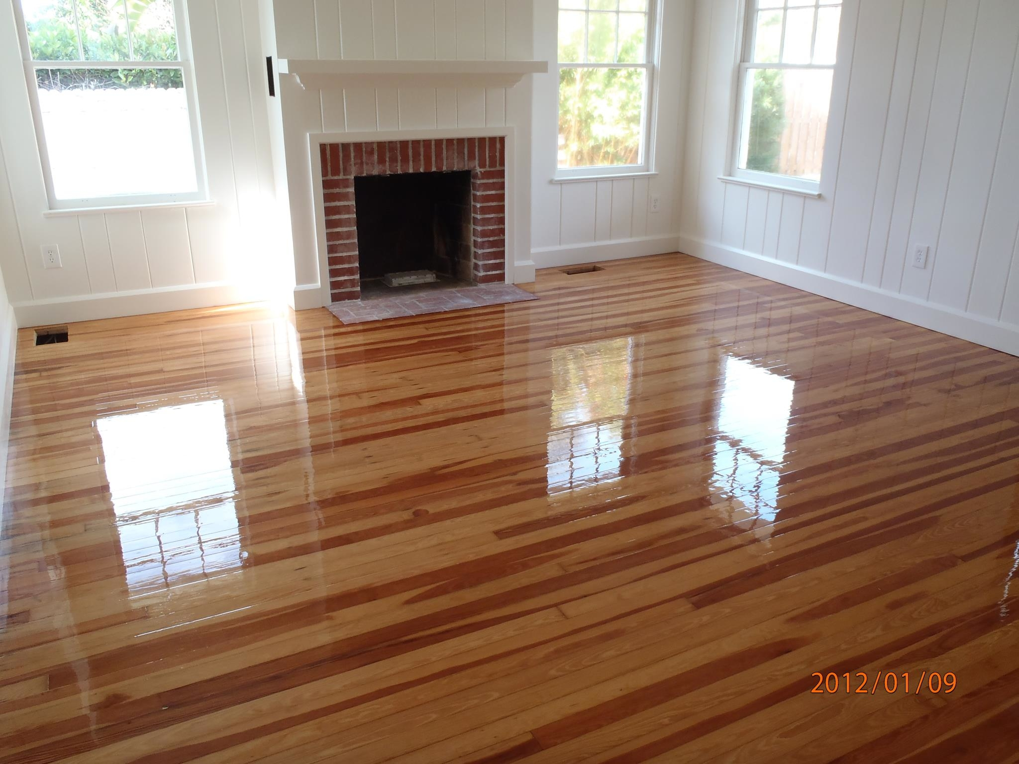 Restain Wood Floors Without Sanding