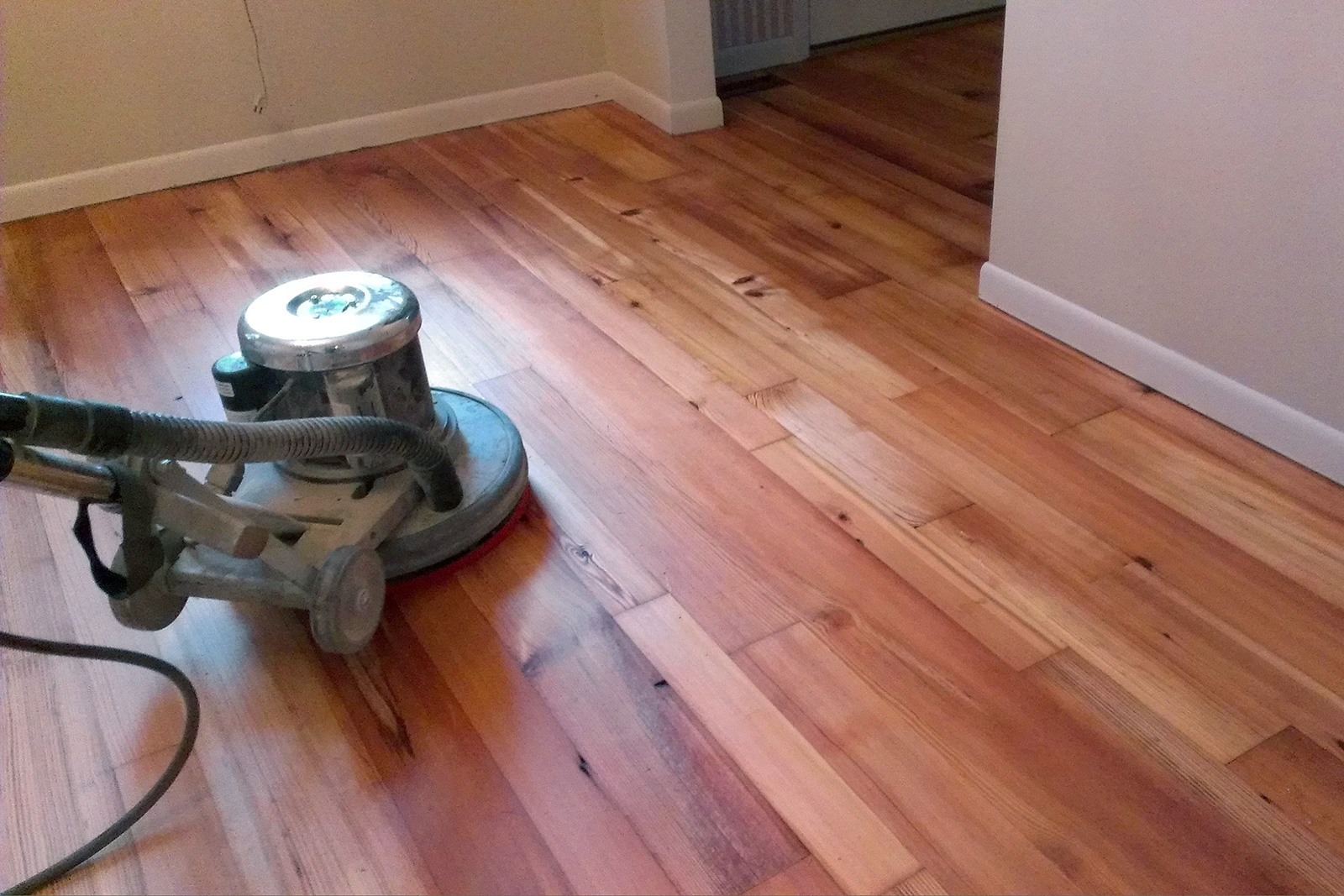 Sealed Wood Floor Polish