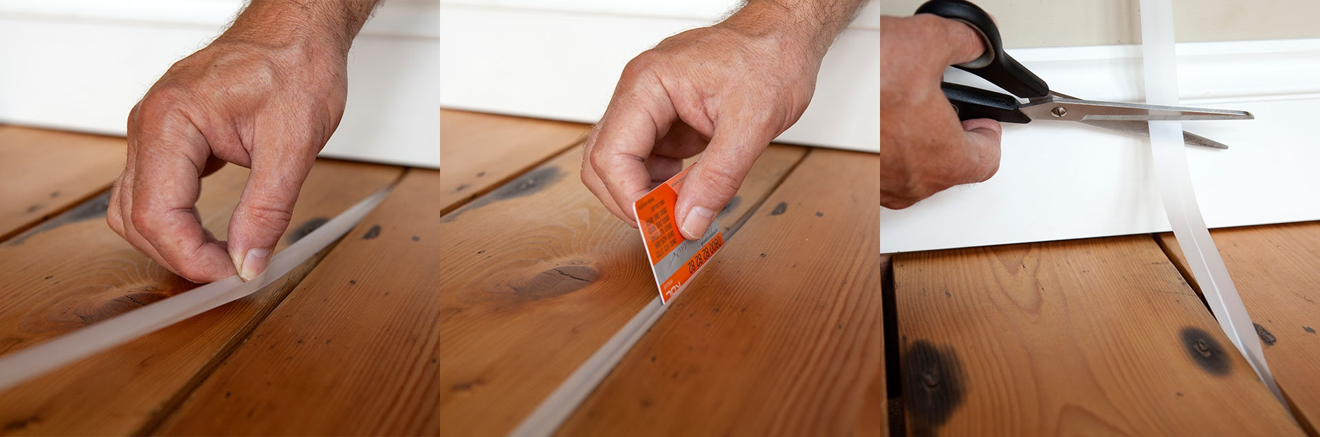 Sealing Wood Floors Cracks