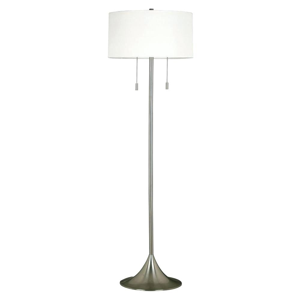 Thresholdtm Washed Wood Floor Lamp