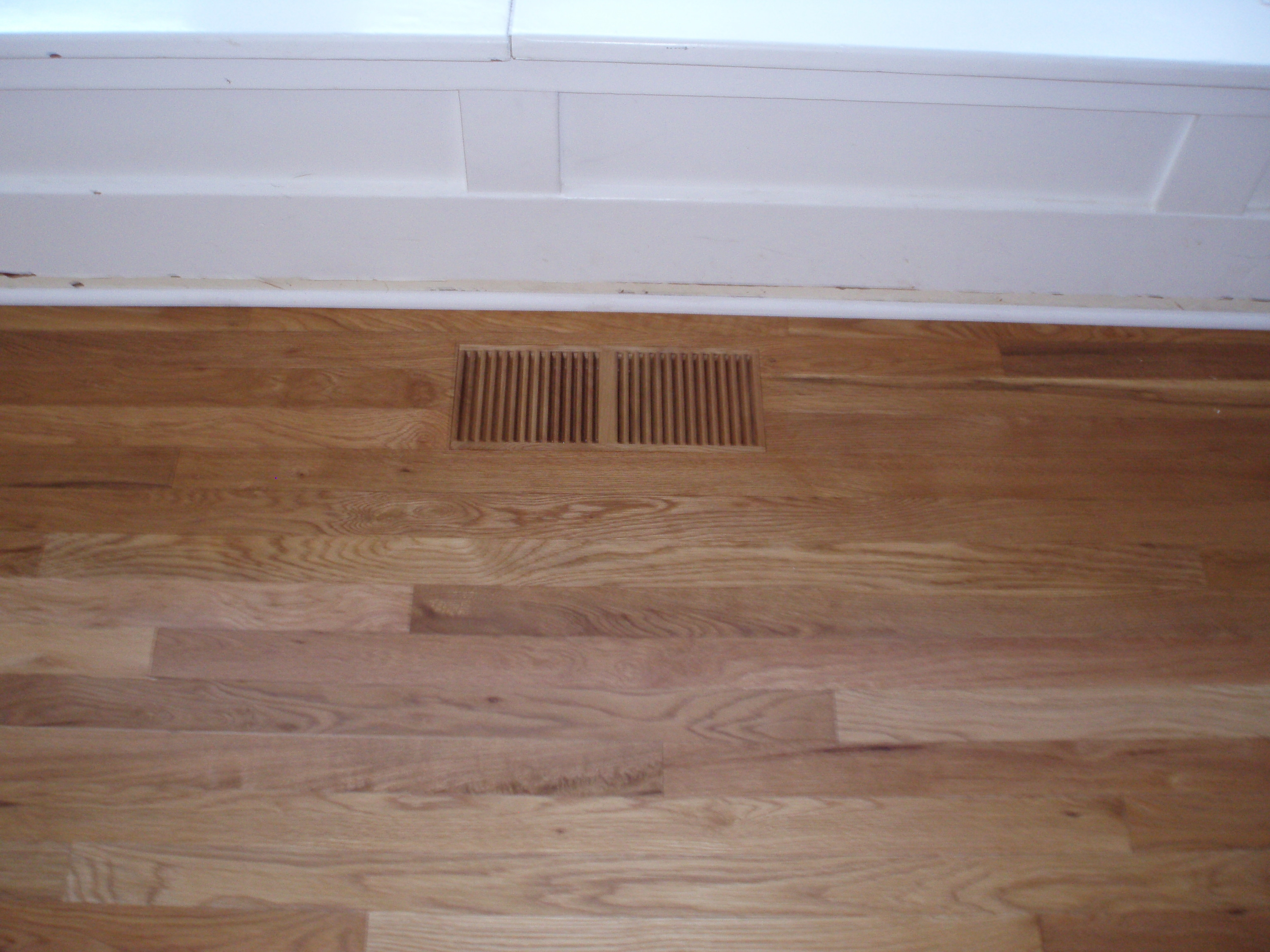Wood Floor Heat Register Covers