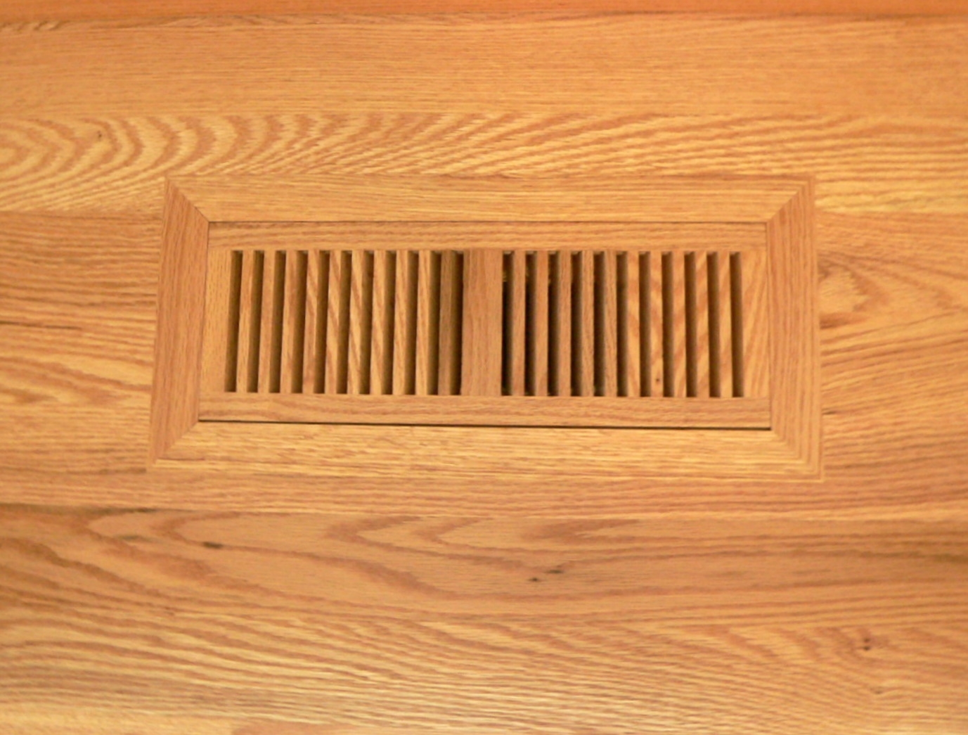Wood Floor Heat Vents