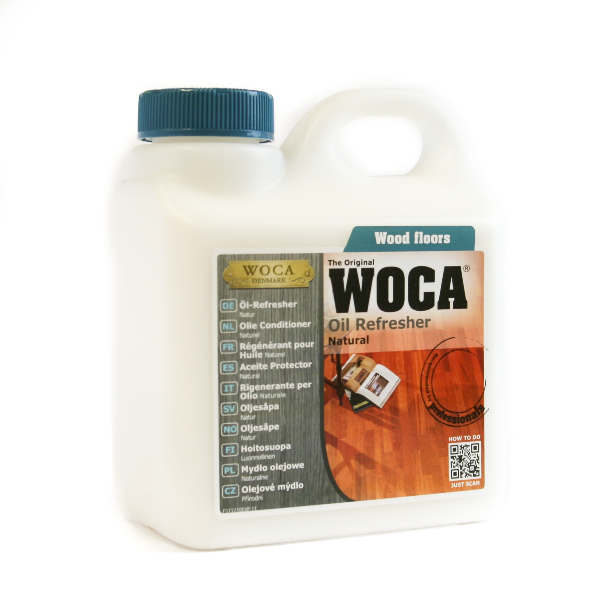 Wood Floor Oil Refresher