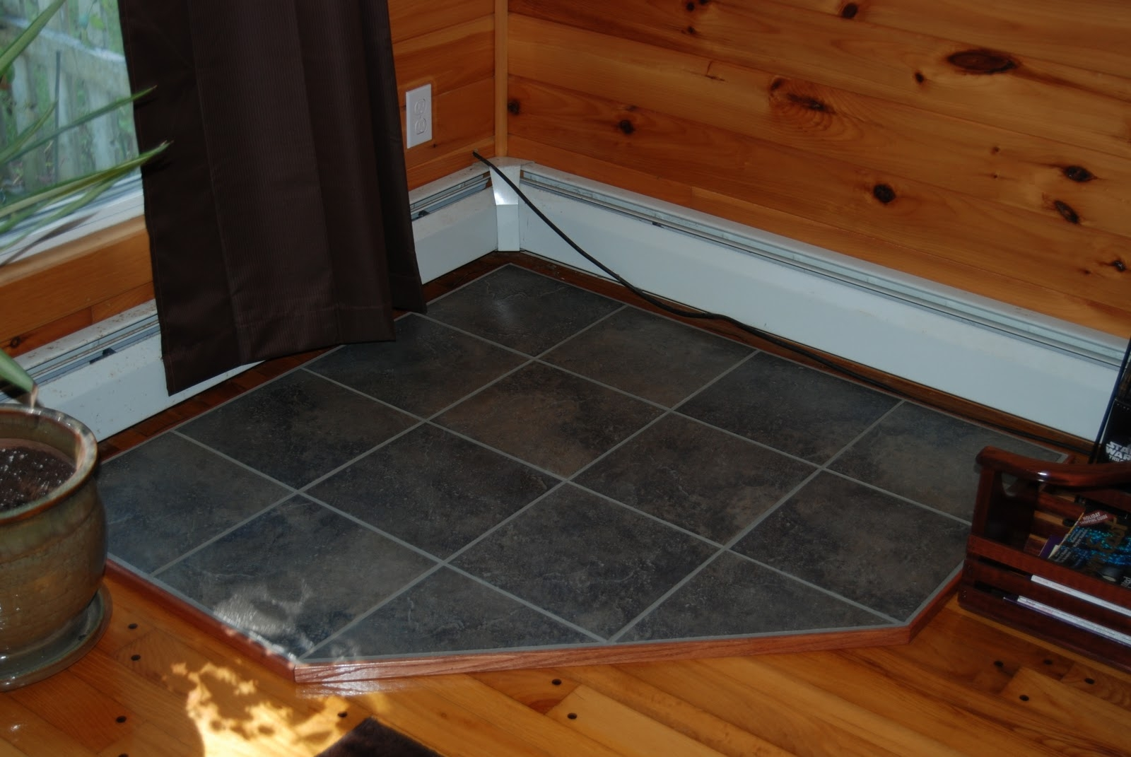 Wood Stove Floor Pad