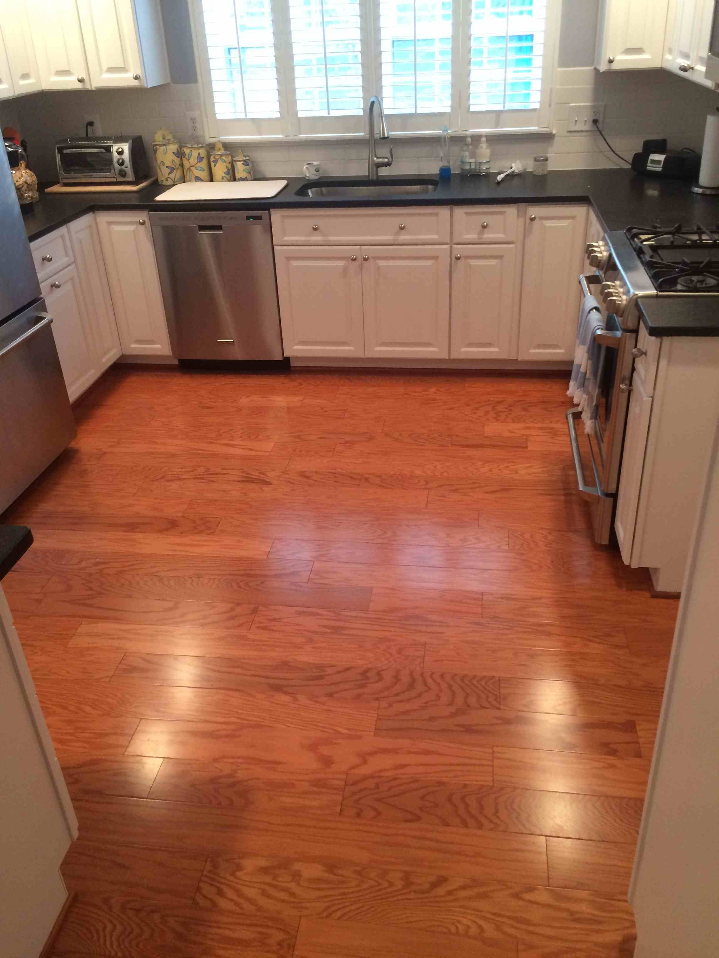 Light Wood Floors With Dark Cabinets Wood Flooring
