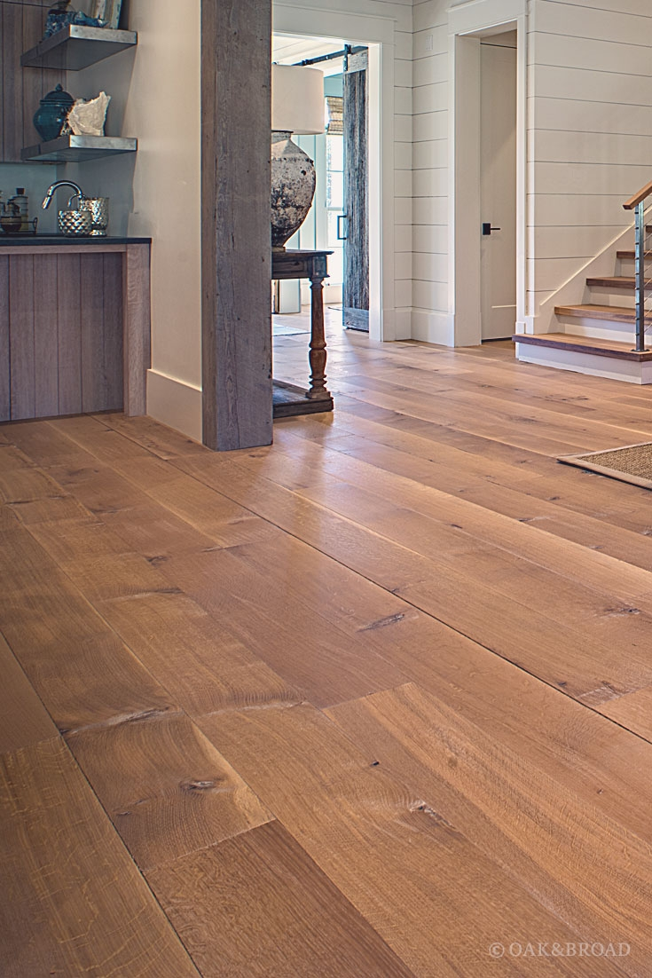 Extra Wide Wood Floor Trim