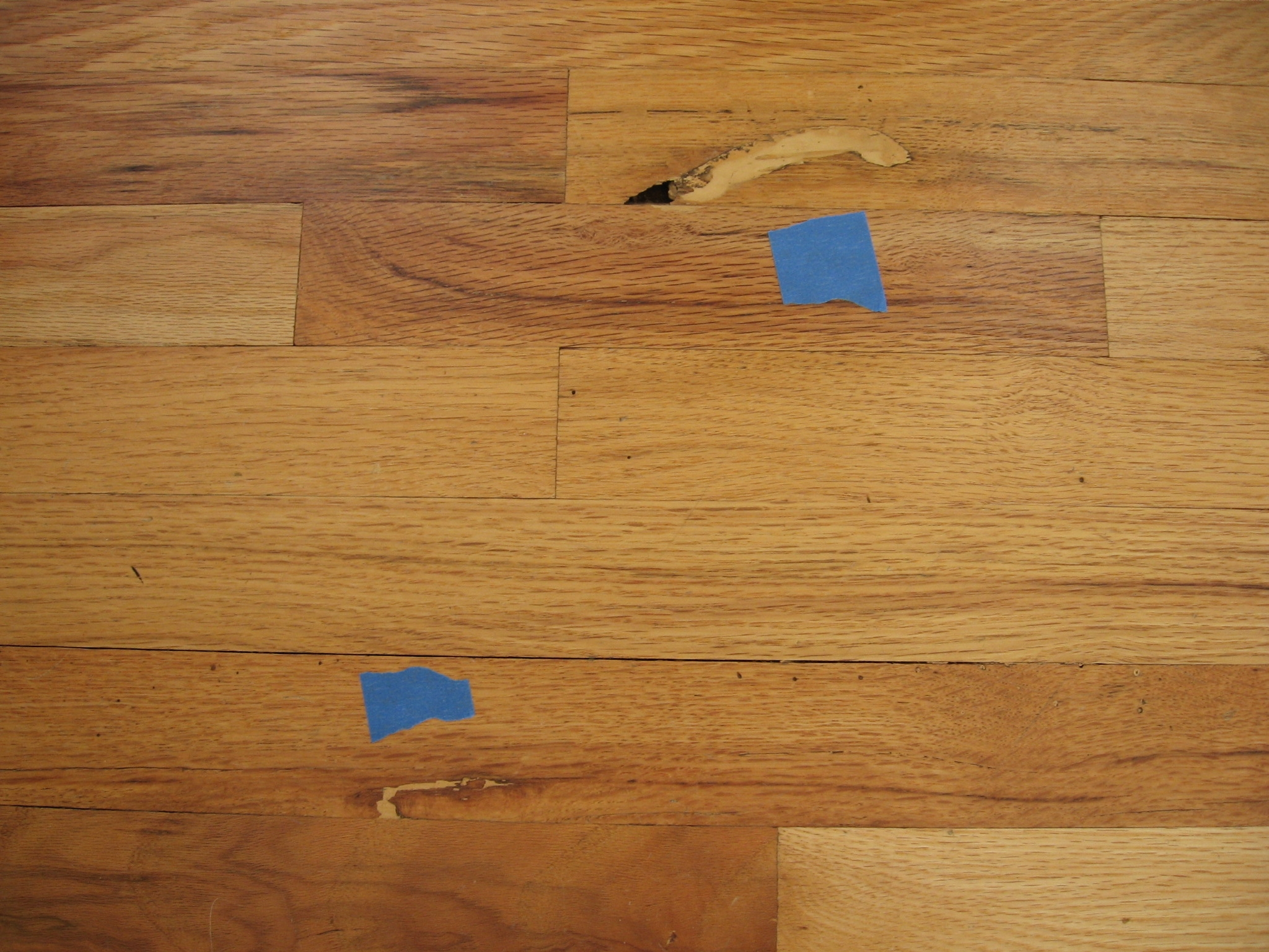 Fill Wood Floor Joints