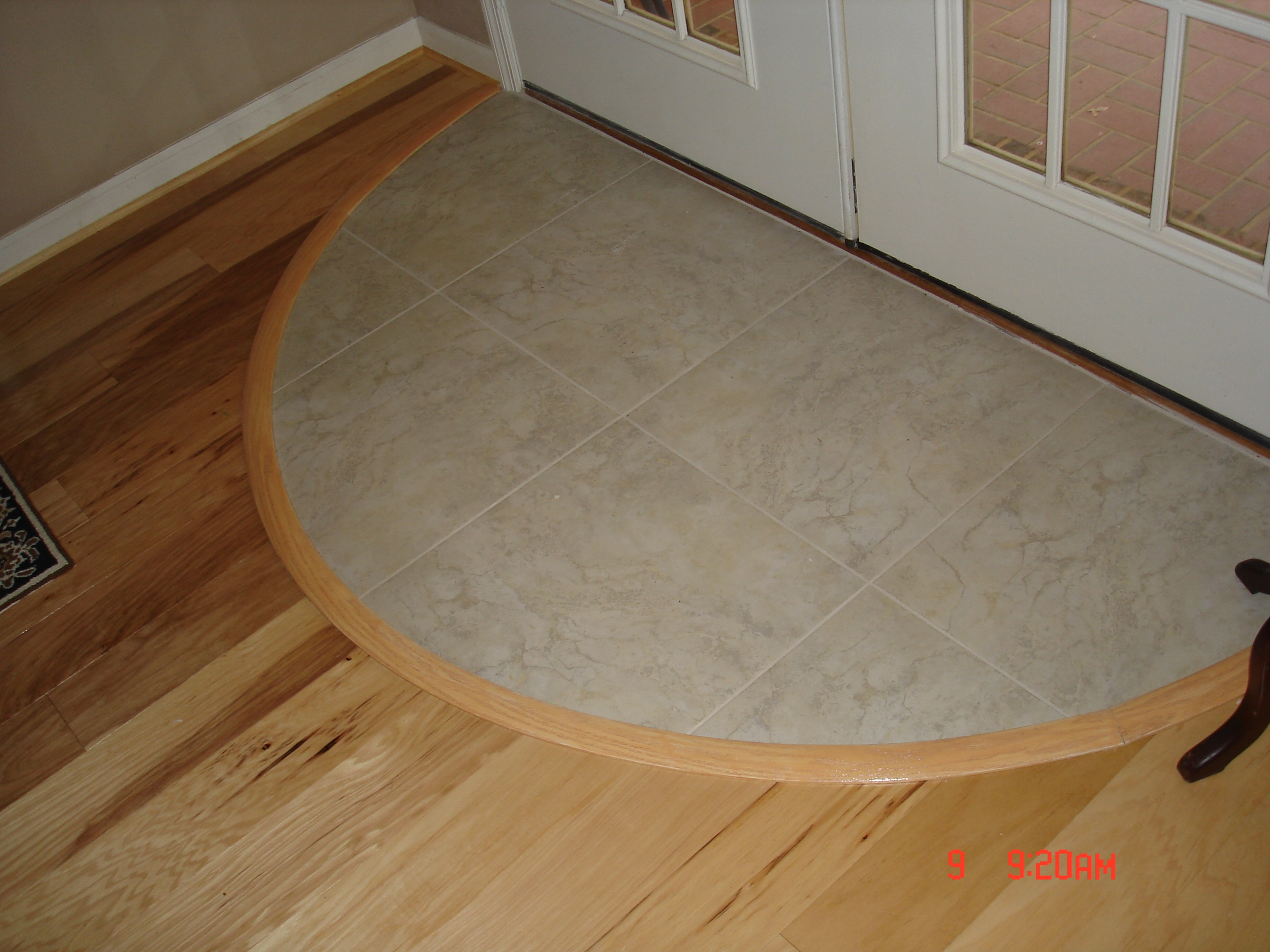 Flexible Wood Flooring Transitions