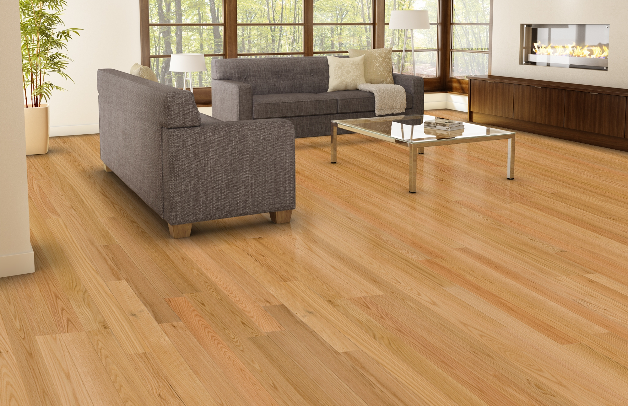 Floating Oak Wood Flooringnatural ambiance red oak select better lauzon hardwood flooring