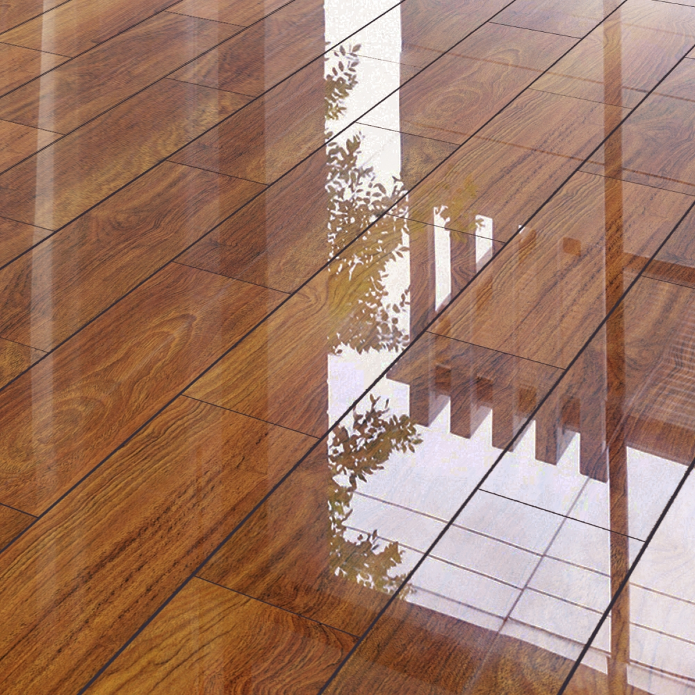 High Gloss Wood Flooring