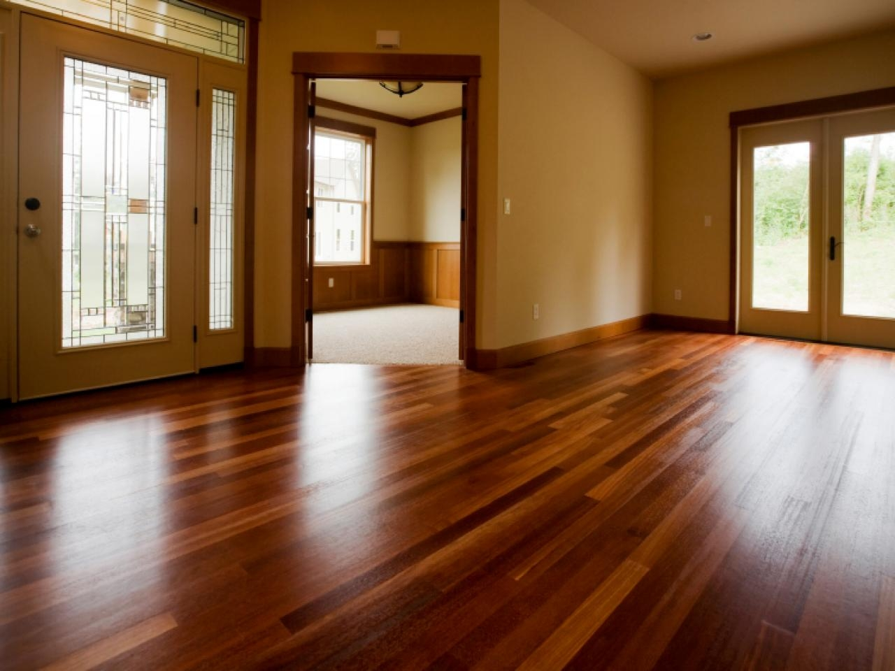 Make Wood Floors Shine Again
